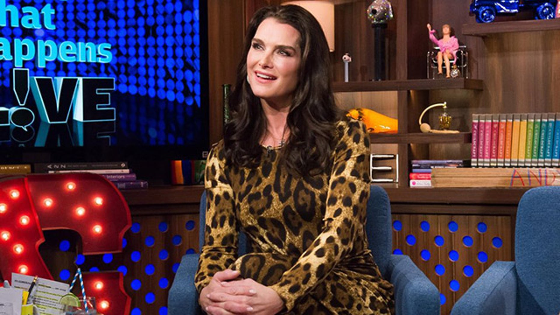 """Brooke Shields on """"Watch What Happens Live."""""""