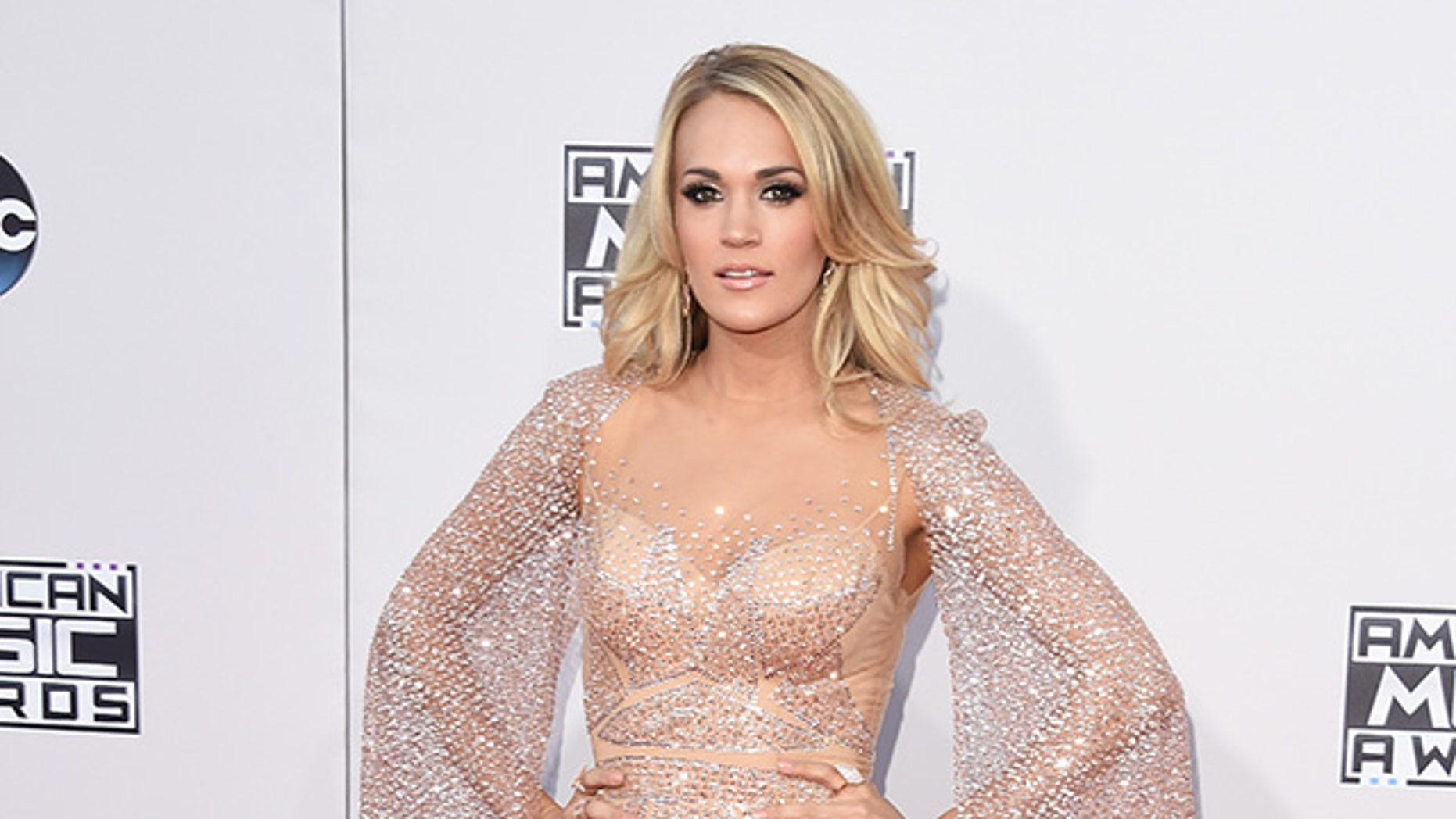 LOS ANGELES, CA - NOVEMBER 22:  Recording artist Carrie Underwood attends the 2015 American Music Awards at Microsoft Theater on November 22, 2015 in Los Angeles, California.  (Photo by Jason Merritt/Getty Images)