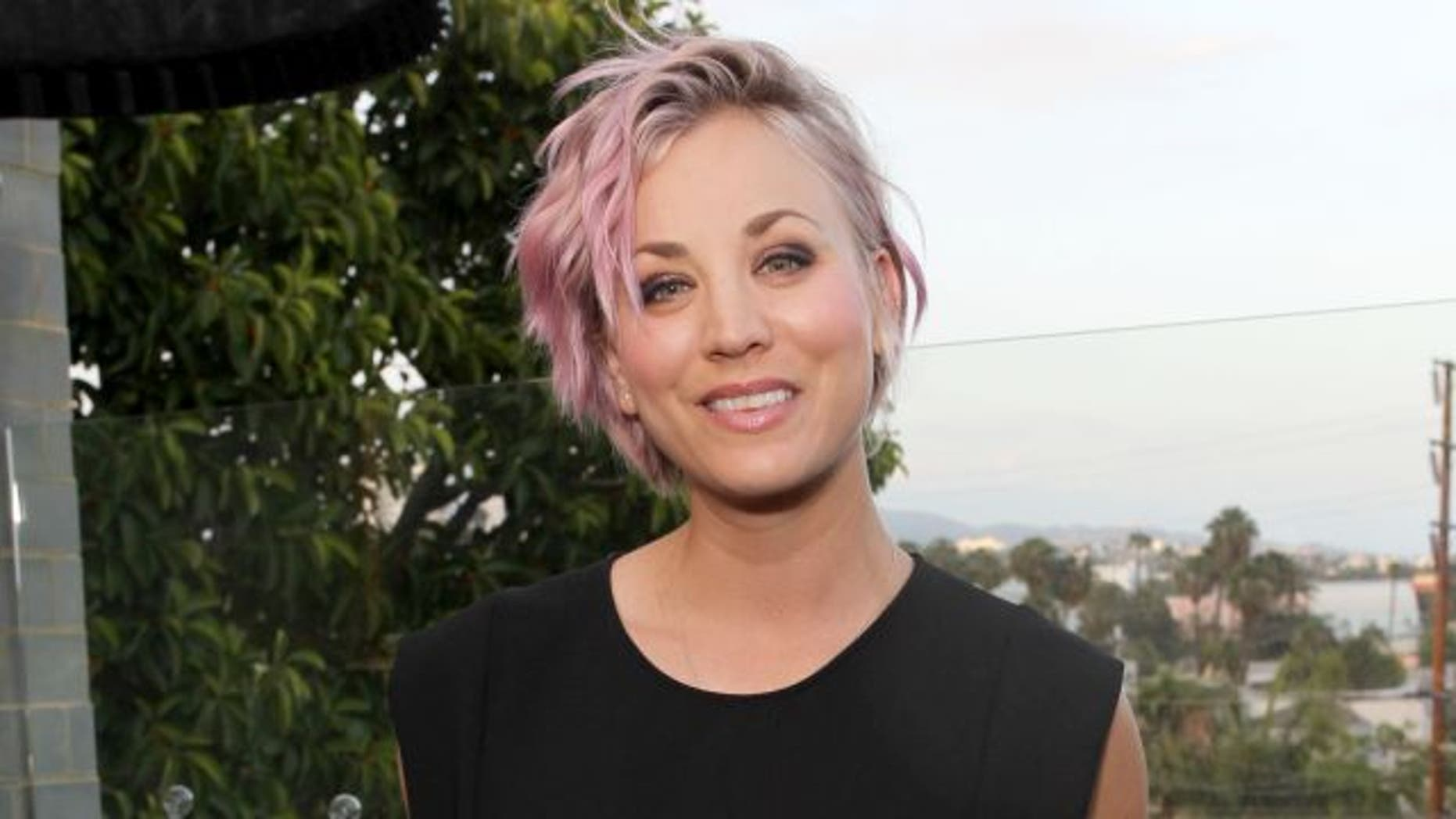June 10, 2015.  Actress Kaley Cuoco attends the Longines Masters of Los Angeles welcoming event at the Petit Ermitage in West Hollywood, CA.