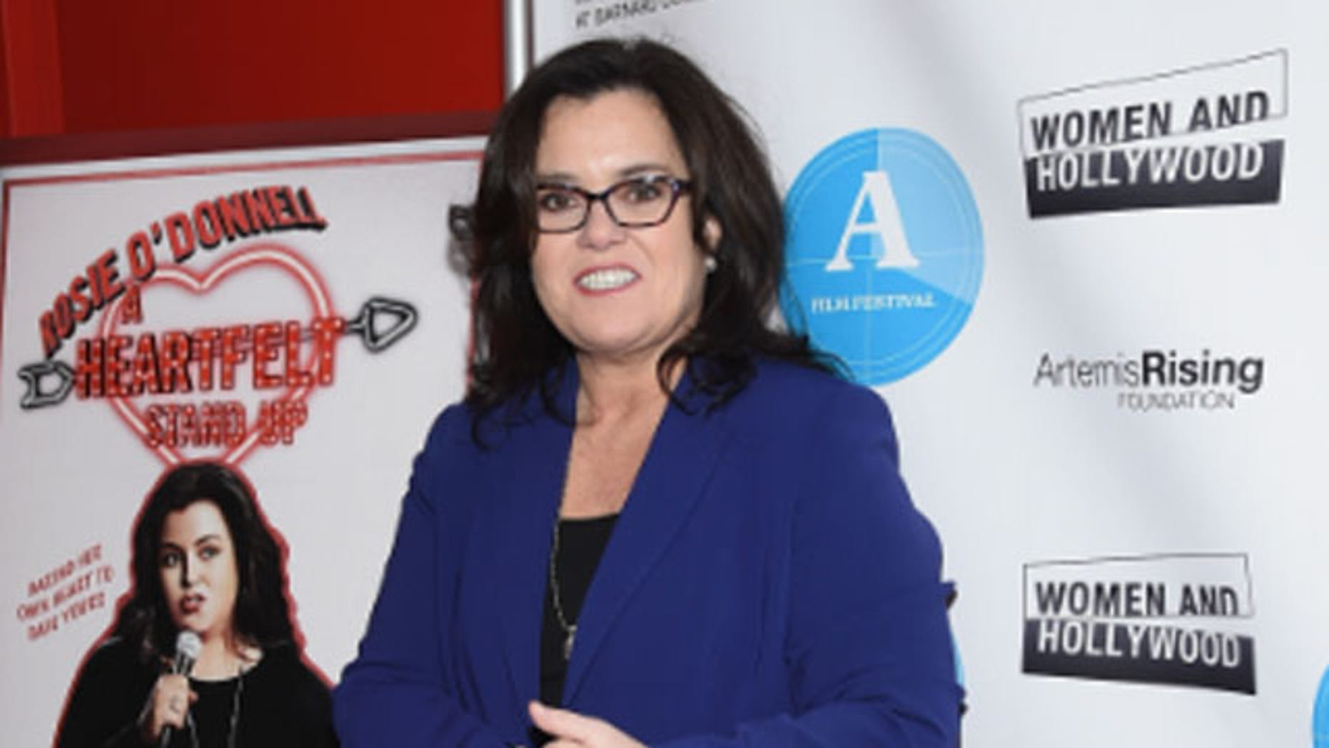 Feb 7. 2015. Rosie O'Donnell at the premiere of her HBO stand up show.
