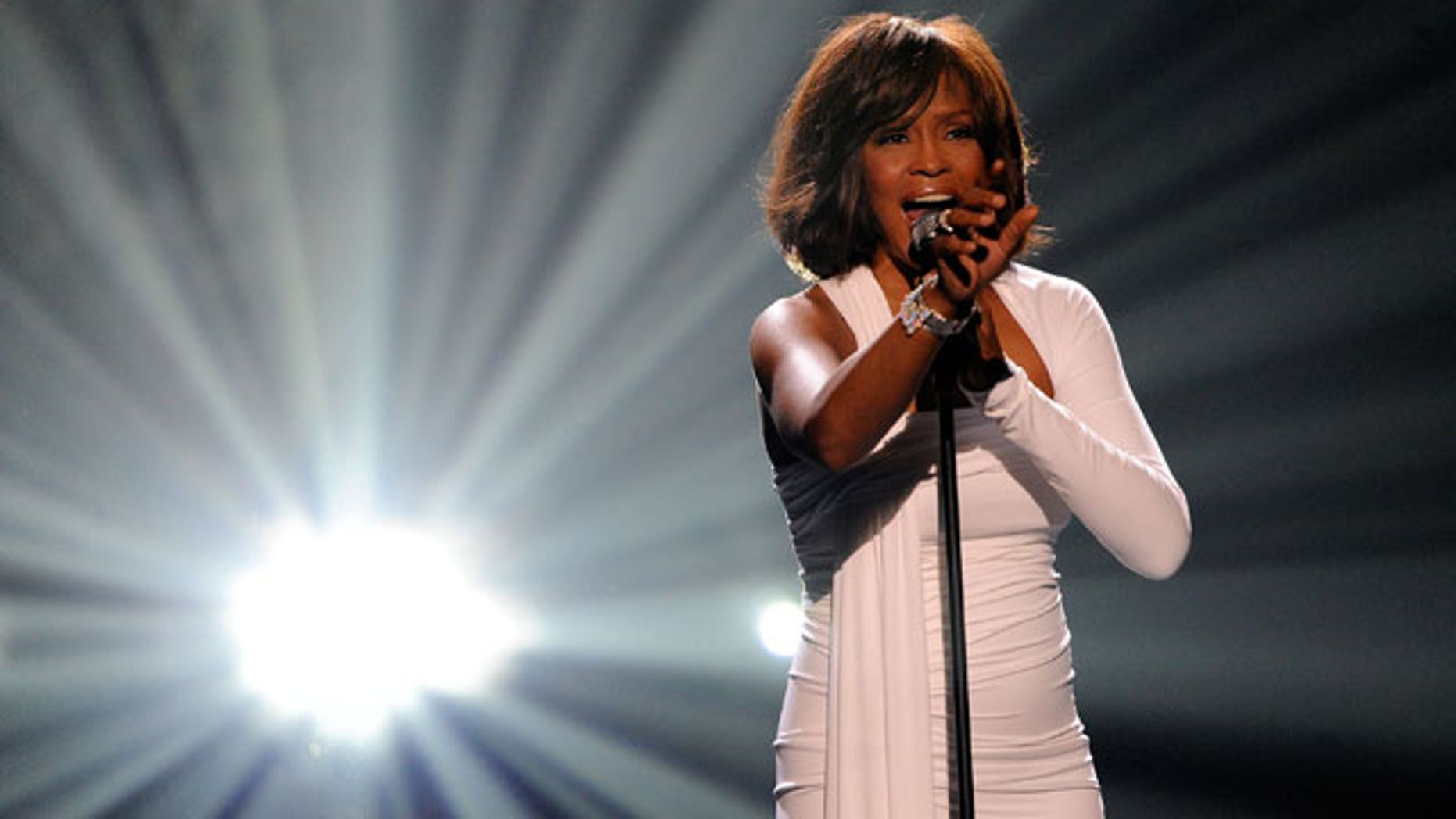 Whitney Houston in an undated photo.