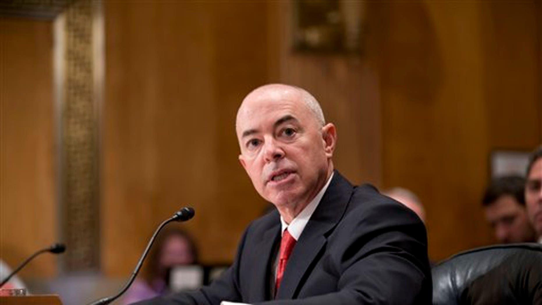 Alejandro Mayorkas, the new deputy director of the Department of Homeland Security.