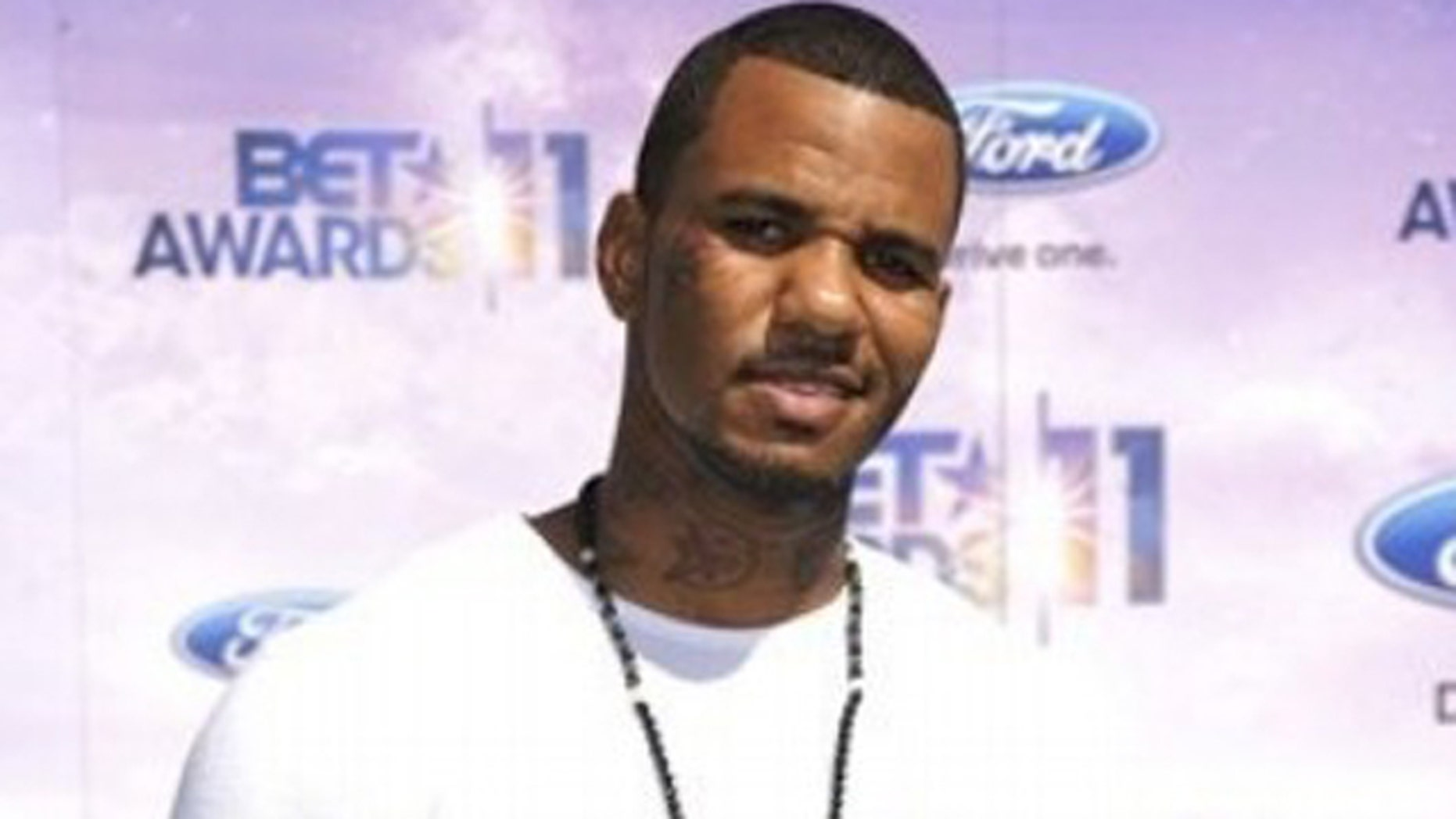 FILE: Jayceon Terrell Taylor, also known as The Game, arrives at the BET Awards.
