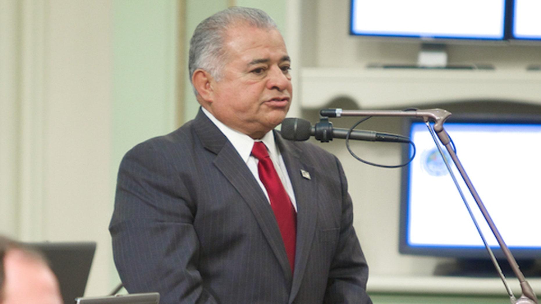 California Assemblyman Rocky Chávez, Jan. 6, 2014. (Photo: Courtesy Rocky Chávez)