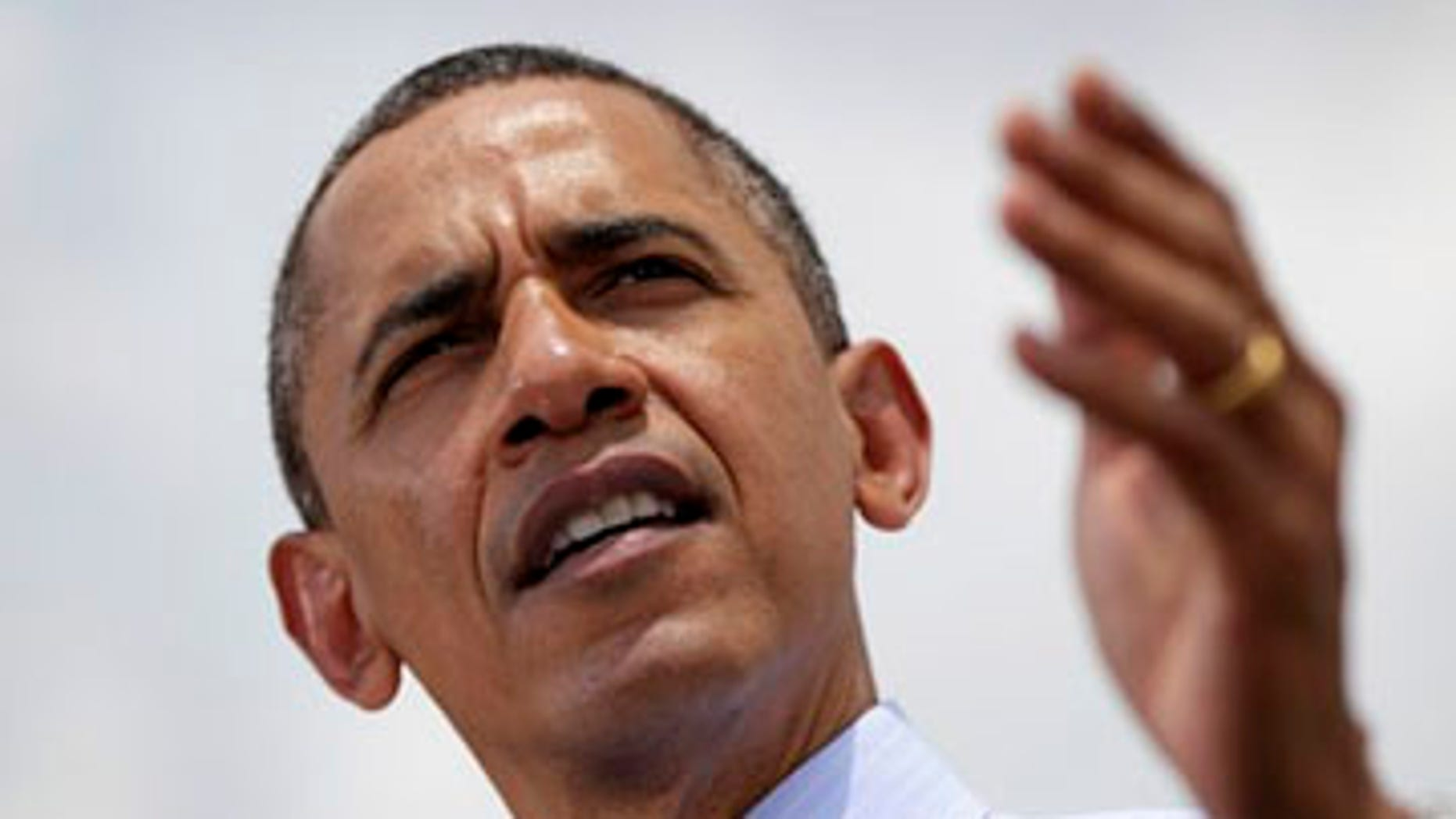 April 13, 2012: President Barack Obama in Tampa, Fla., speaks about trade before heading to the Summit of the Americas.