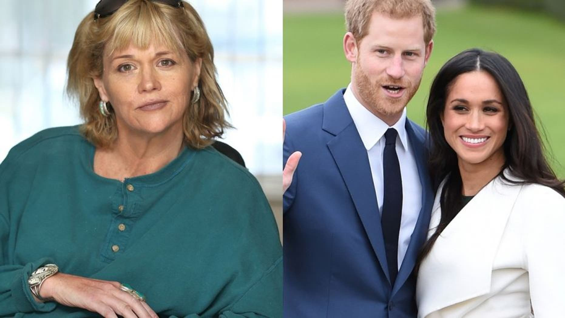 Samantha Grant (left), the half sister of actress Meghan Markle (right), denied trying to cash in on the actress' romance with Prince Harry. (Splash/Reuters)