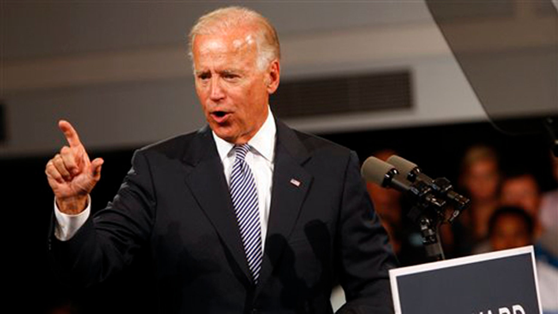FILE: August 13, 2012: Vice President Joe Biden on the campaign trail in Durham, N.C.