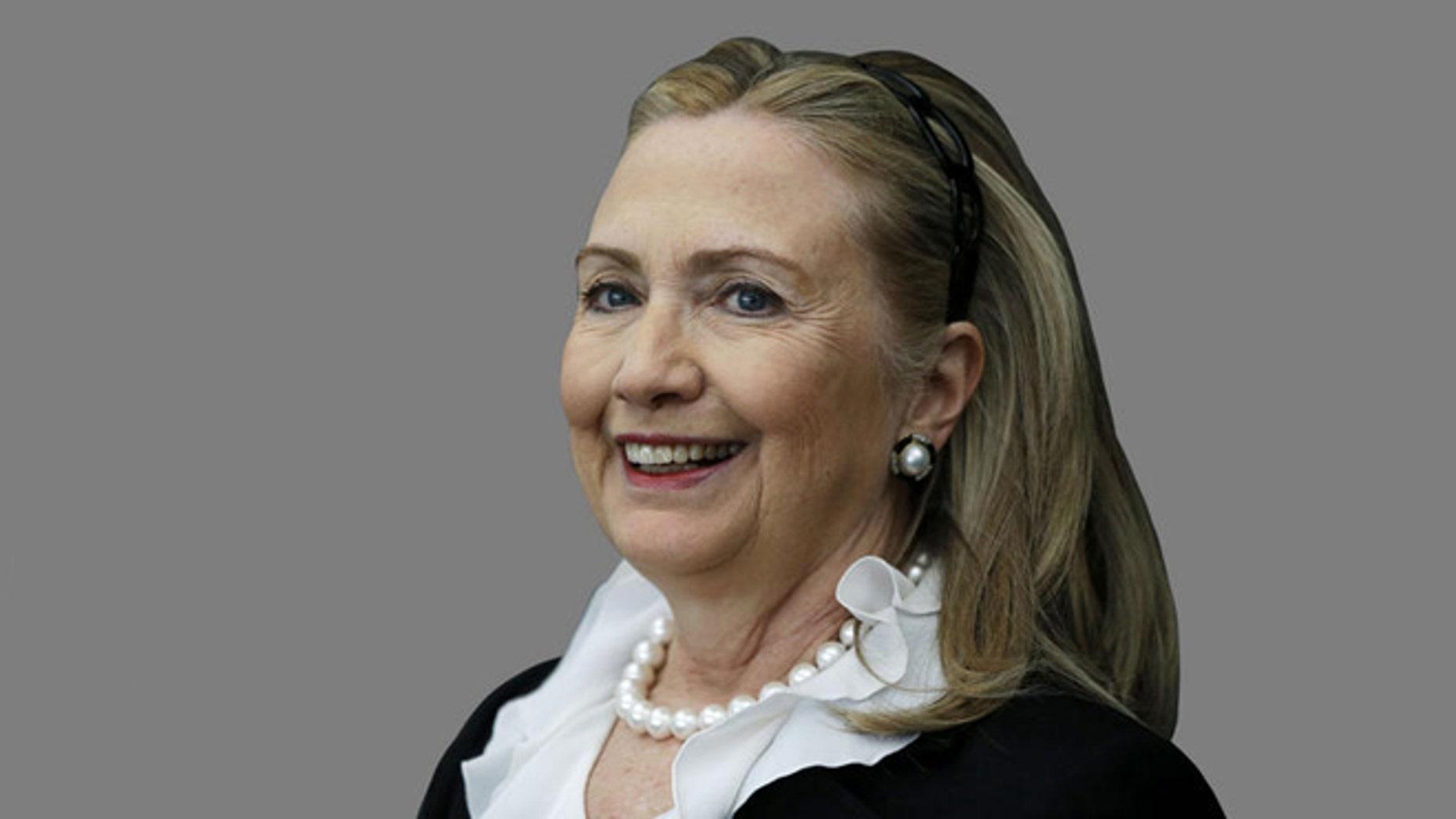 FILE: undated: Secretary of State Hillary Clinton