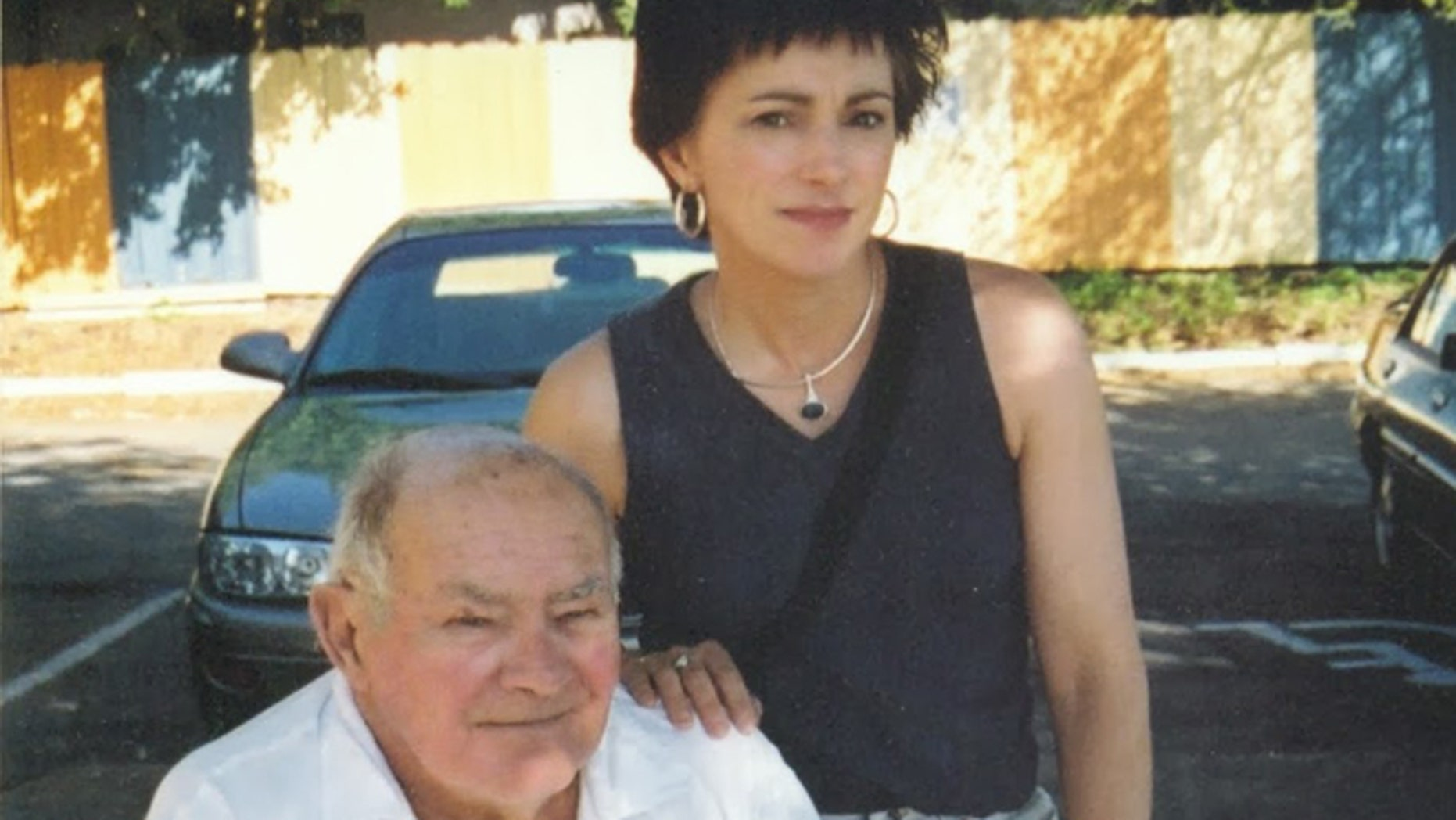 The author and her father