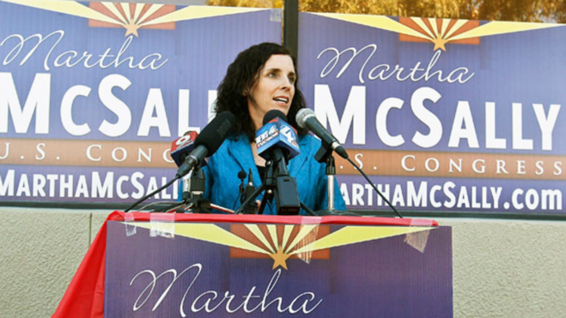 Republican candidate for Congress Martha McSally