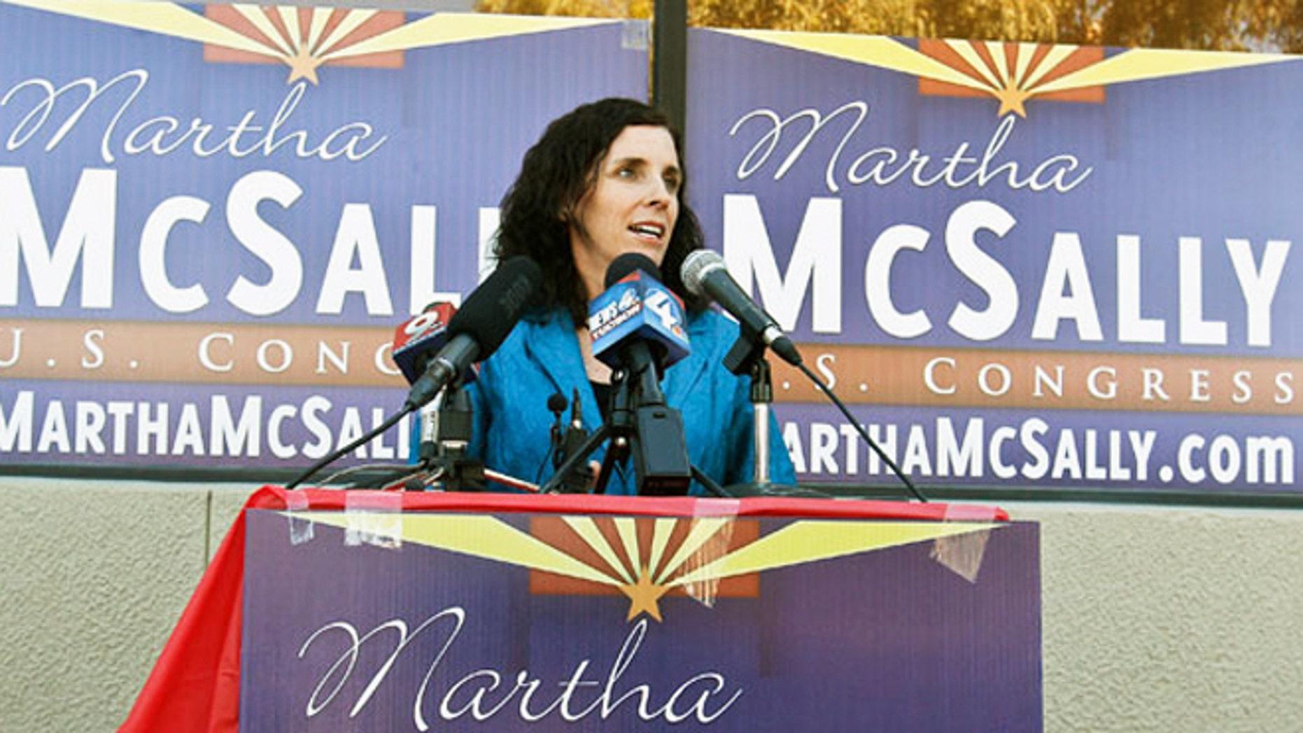 Republican candidate for Congress Martha McSally