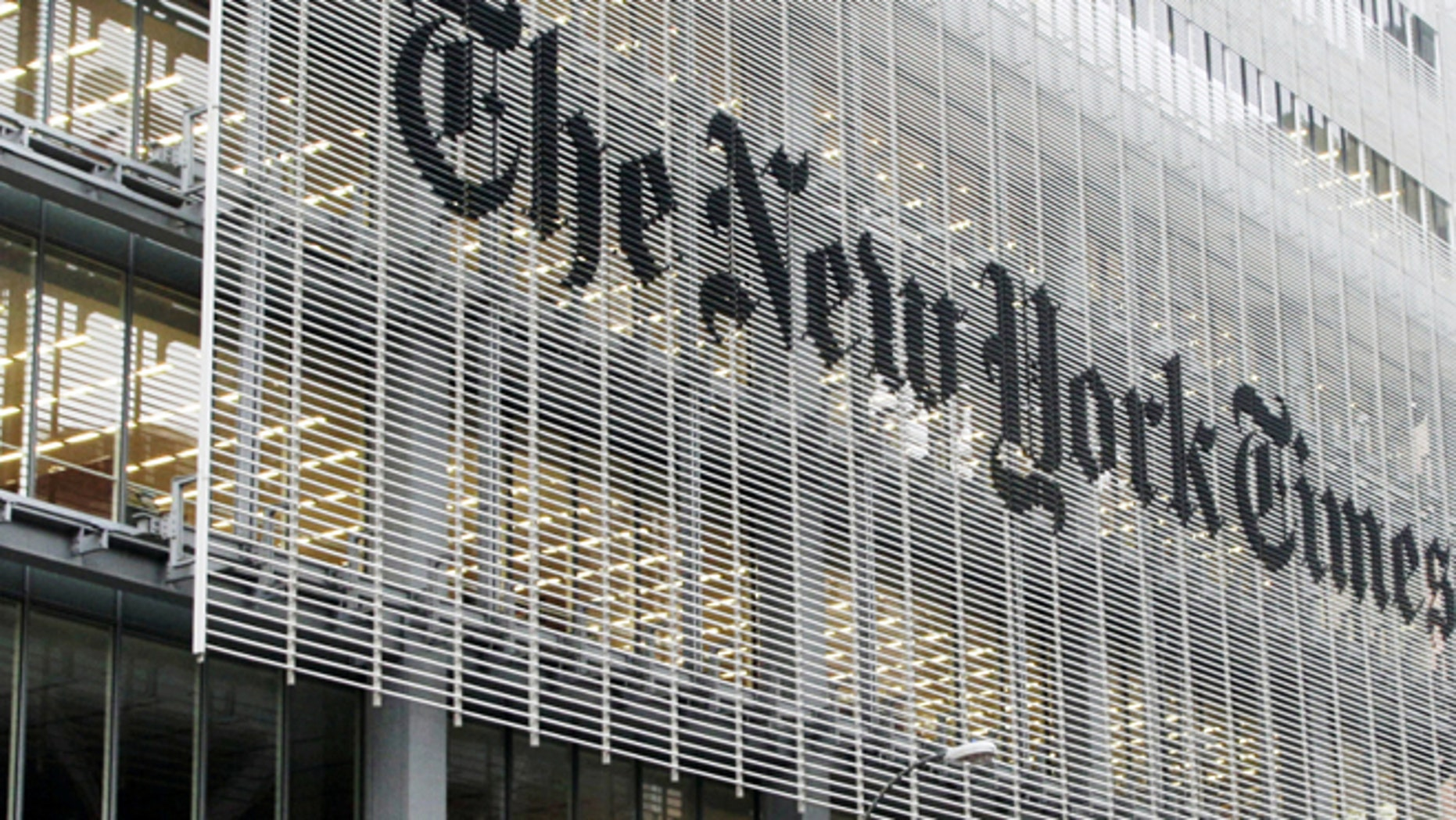 FILE -- New York Times building