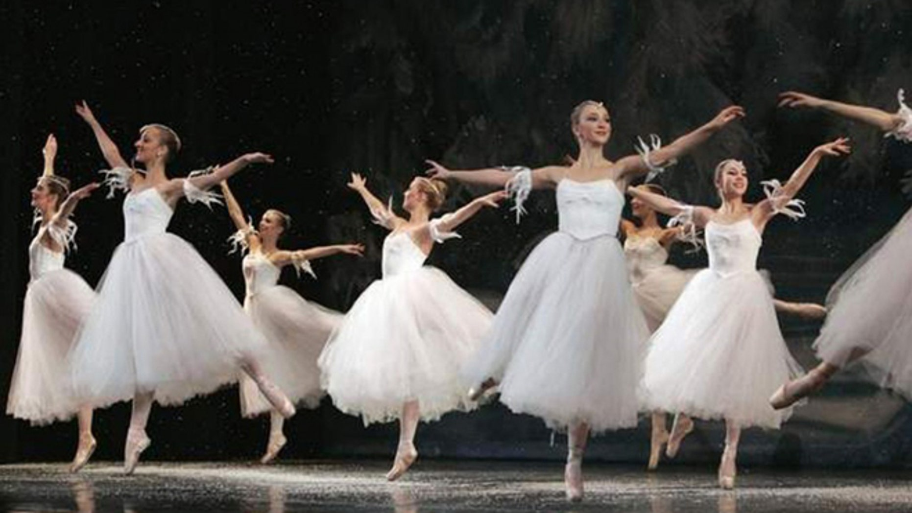 "FILE -- A scene from ""The Nutcracker"" ballet."