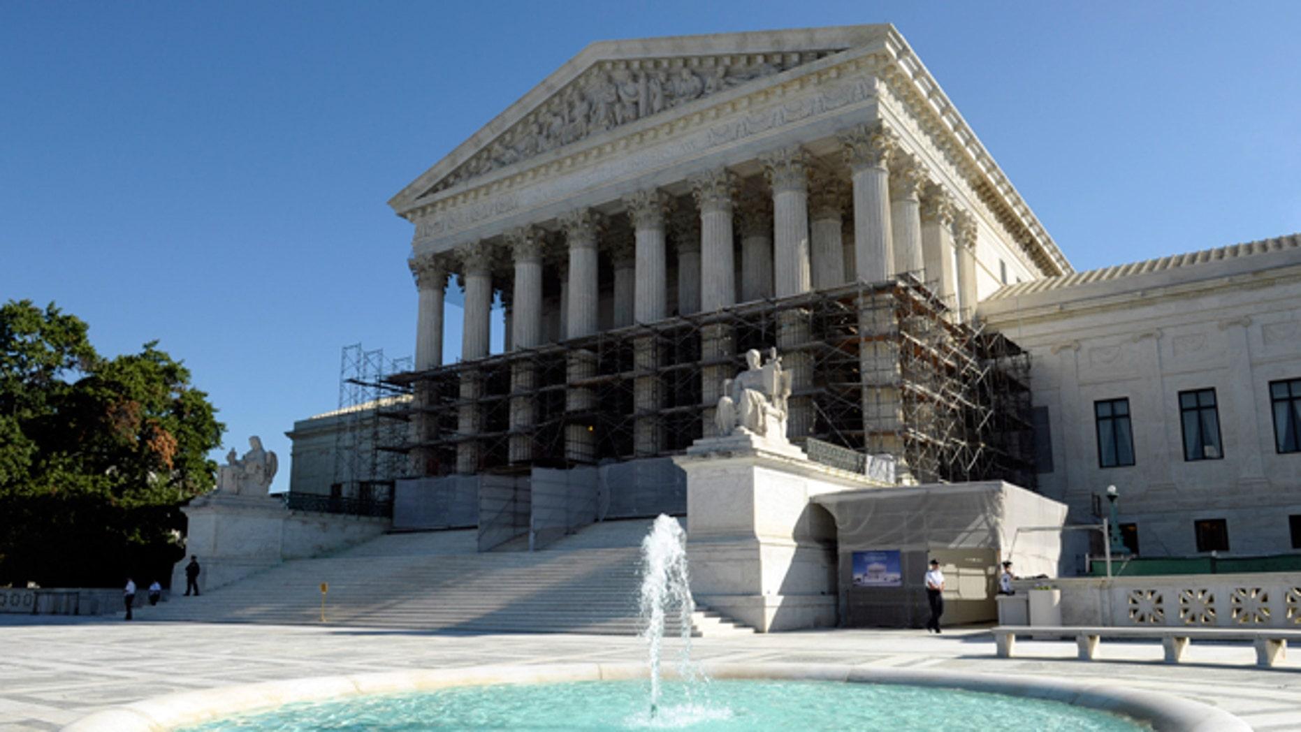 FILE -- Oct. 15, 2013: The Supreme Court in Washington.