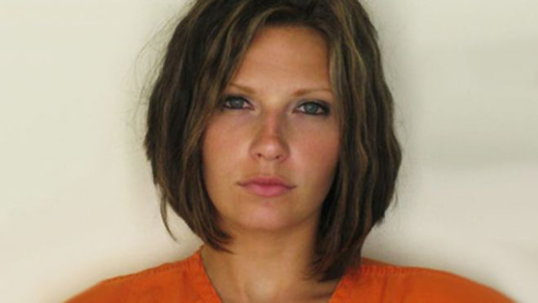 Meagan Simmons in 2010 following her arrest for drinking and driving.
