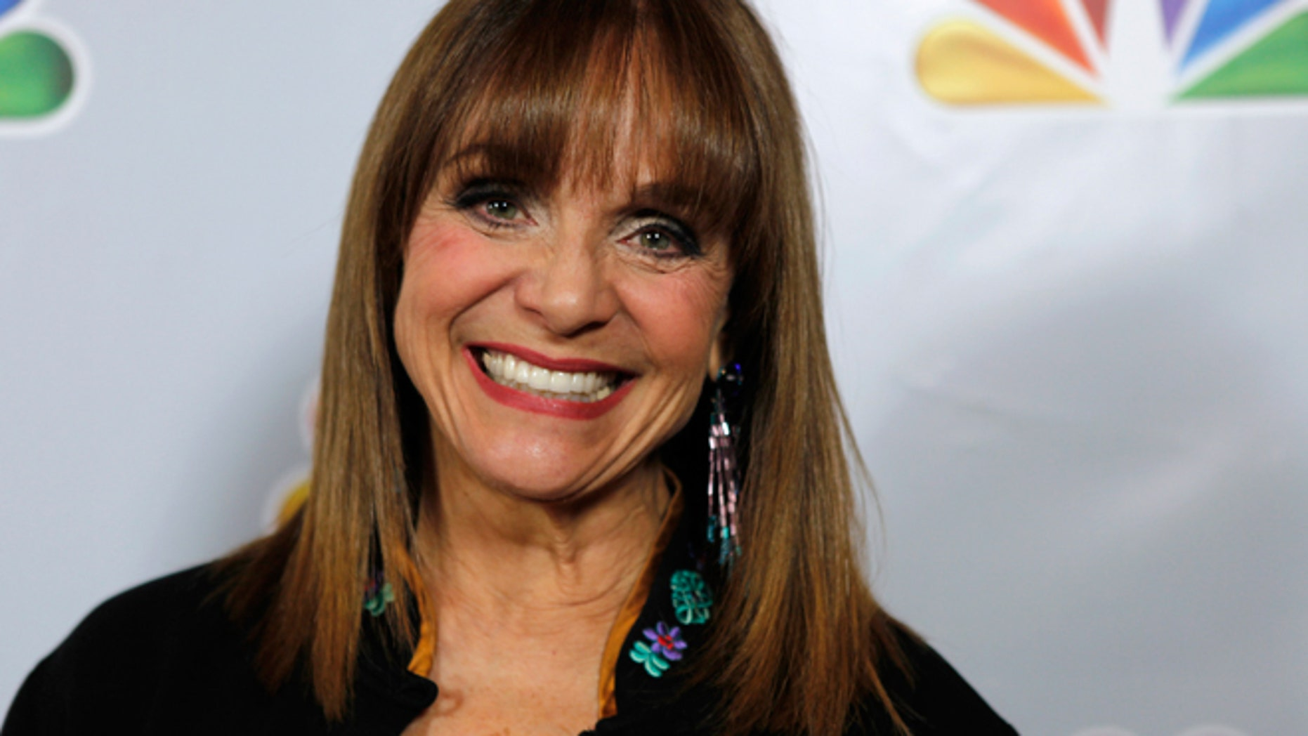 """Jan. 8, 2012: Actress Valerie Harper arrives for the taping of """"Betty White's 90th Birthday: A Tribute to America's Golden Girl"""" in Los Angeles."""