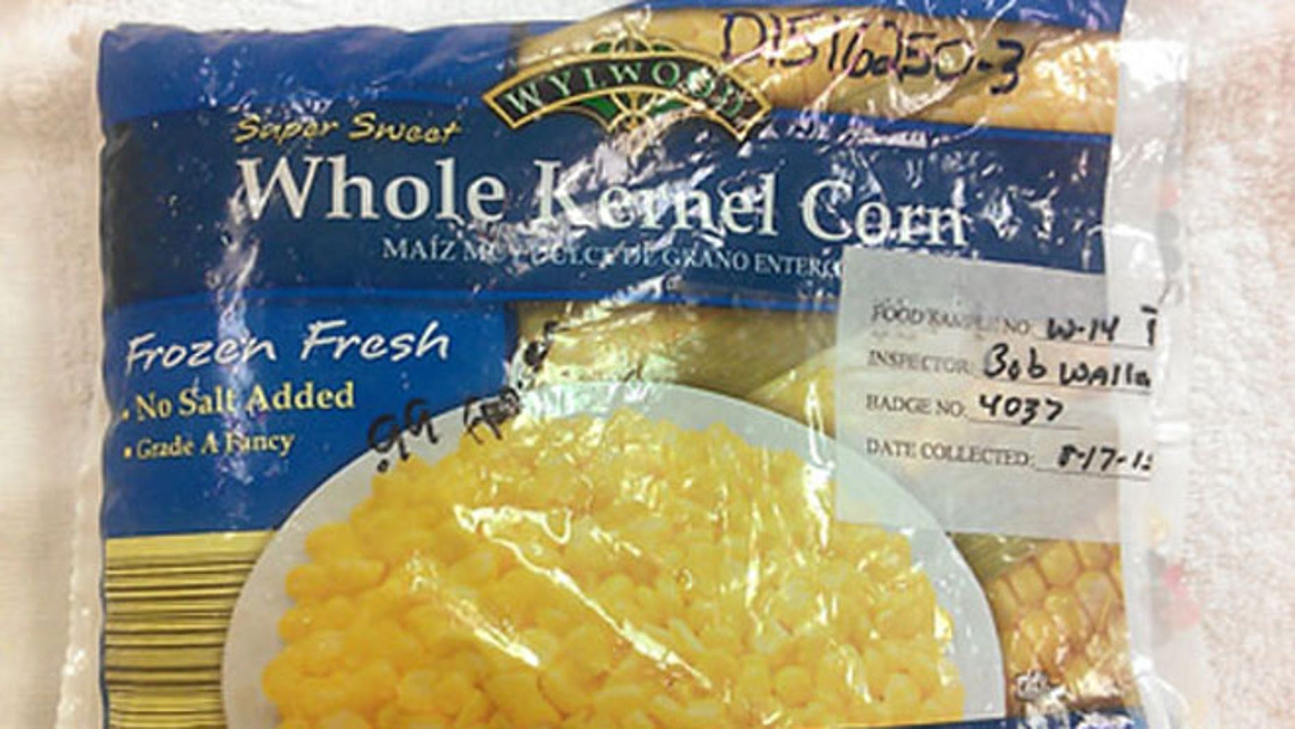Brockport,, New York-based Bonduelle USA Inc. is recalling 9,335 cases of frozen corn after some of the product tested positive for Listeria monocytogenes, which can lead to listeria, a potentially fatal illness.