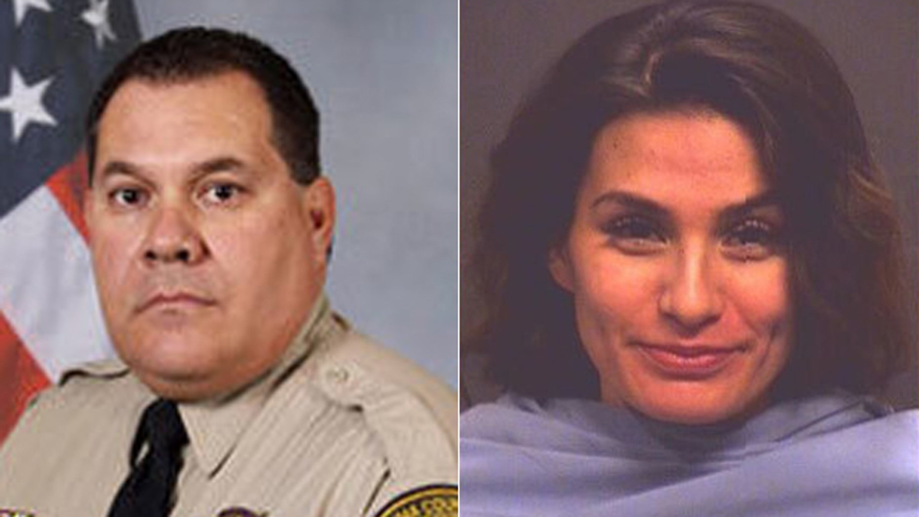 Yesennia Gonzalez, right, was accused of engaging in the struggle that left Traffic Unit Sgt. Mark Bustamante without his left eye.