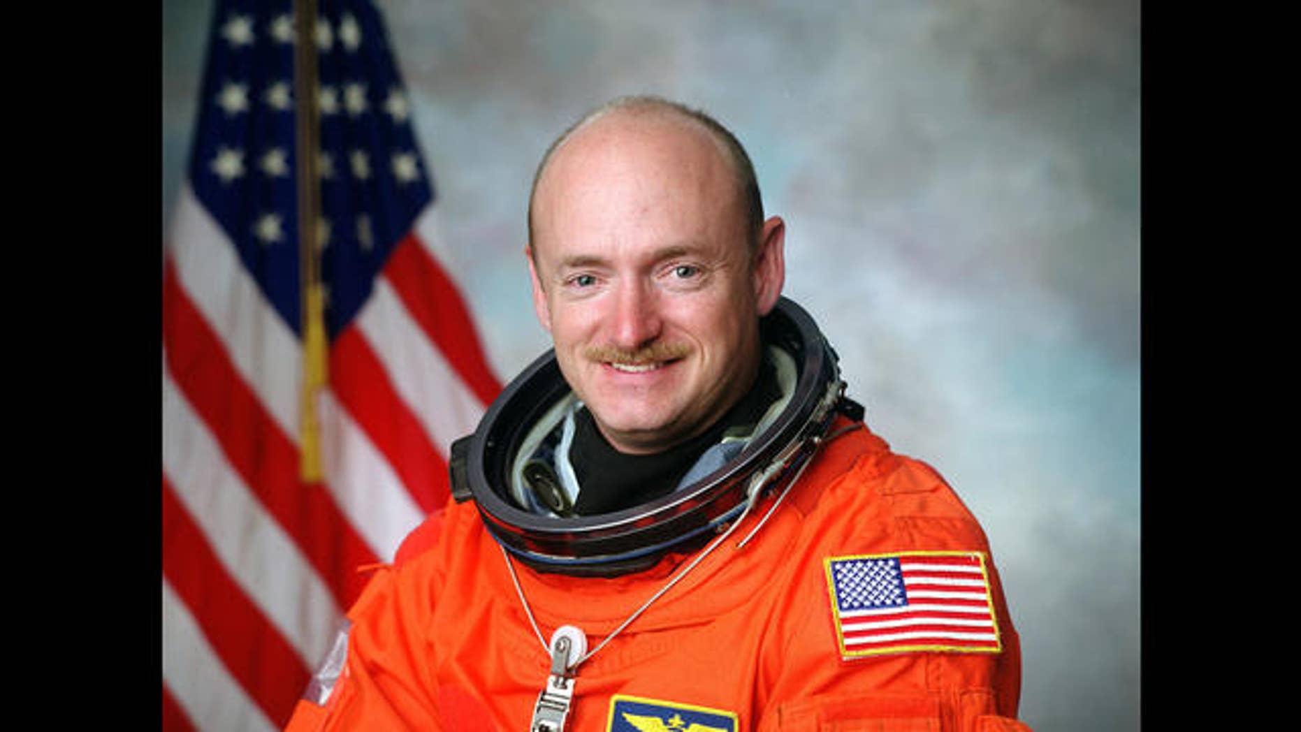 Astronaut Mark Kelly is the husband of Arizona Congressman Gabrielle Giffords.