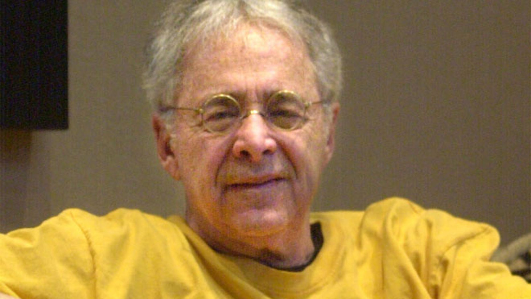 "FILE 2002: Chuck Barris, the man behind TV's ""The Dating Game,"" poses in the lobby of his apartment in New York."