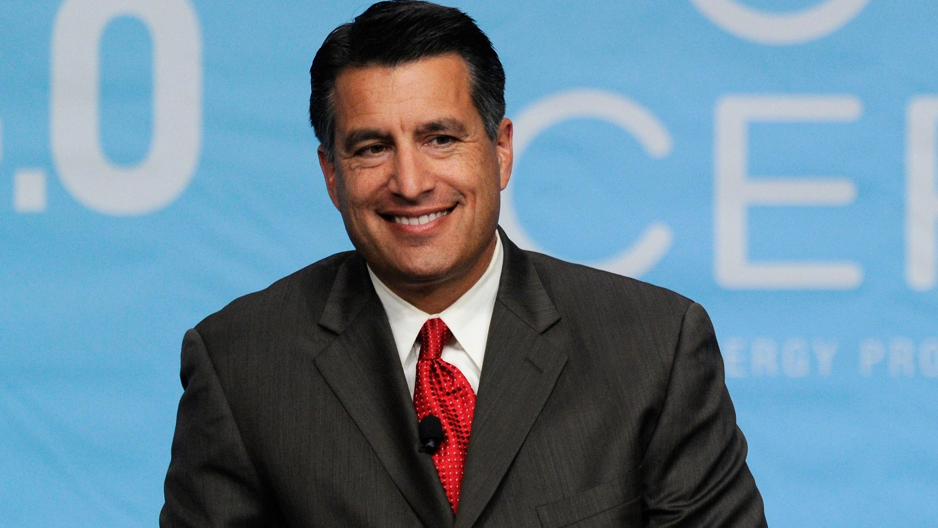 Nevada Gov. Brian Sandoval in a 2011 file photo.