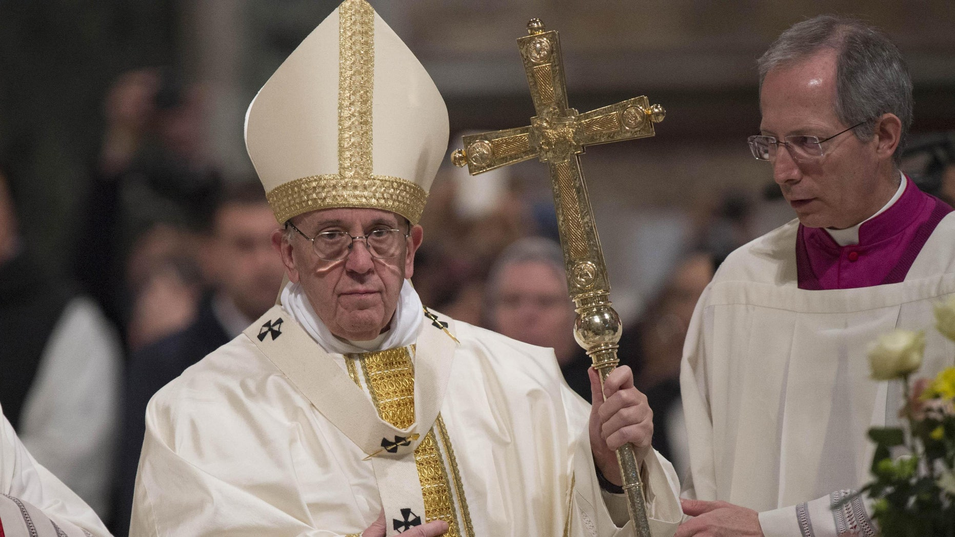 Pope Francis said that the crucifix is a religious sign to be 'contemplated and understood', rather than merchandised.