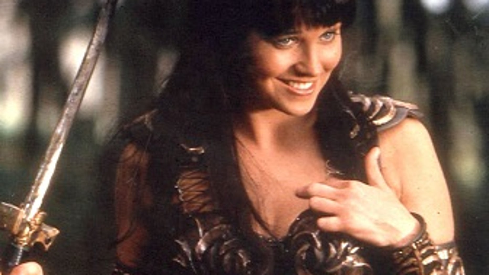 "Lucy Lawless, a native of New Zealand, starred on ""Xena: Warrior Princess"" from 1995 to 2001. (Reuters)"