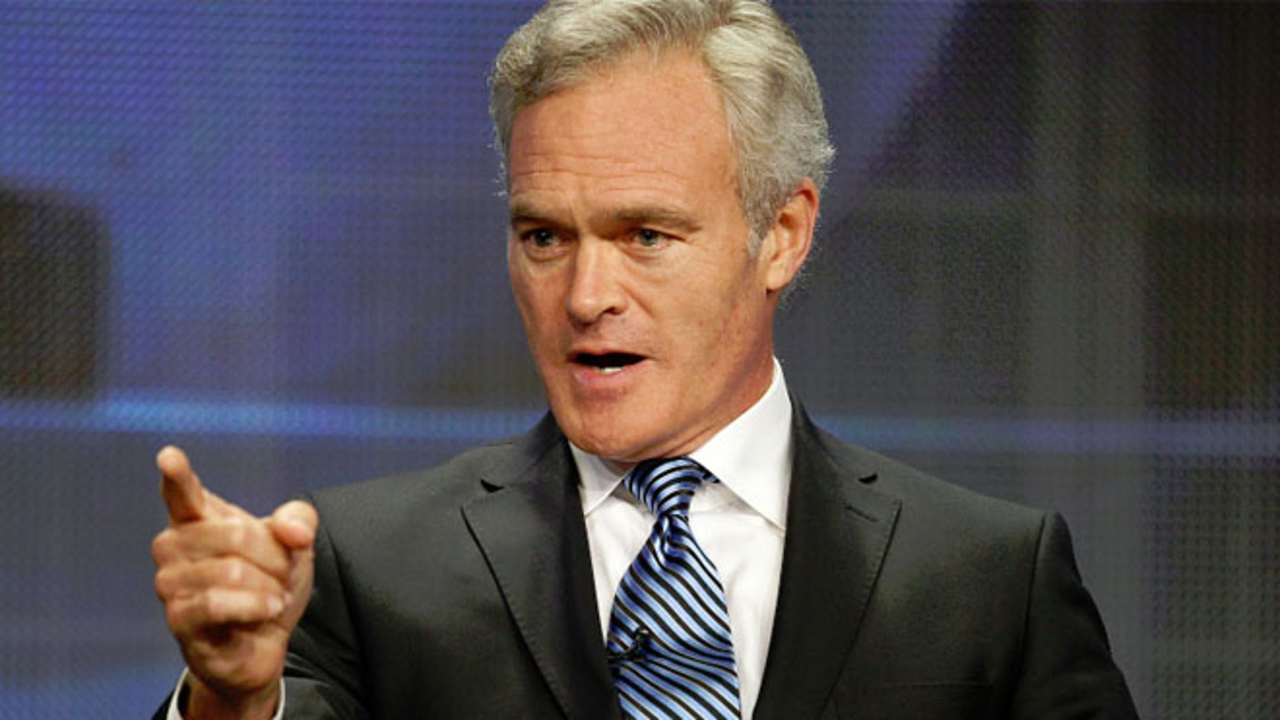 FILE 2011: Scott Pelley  speaks at the CBS Television Network's Summer Television Critics Association Press Tour in Beverly Hills