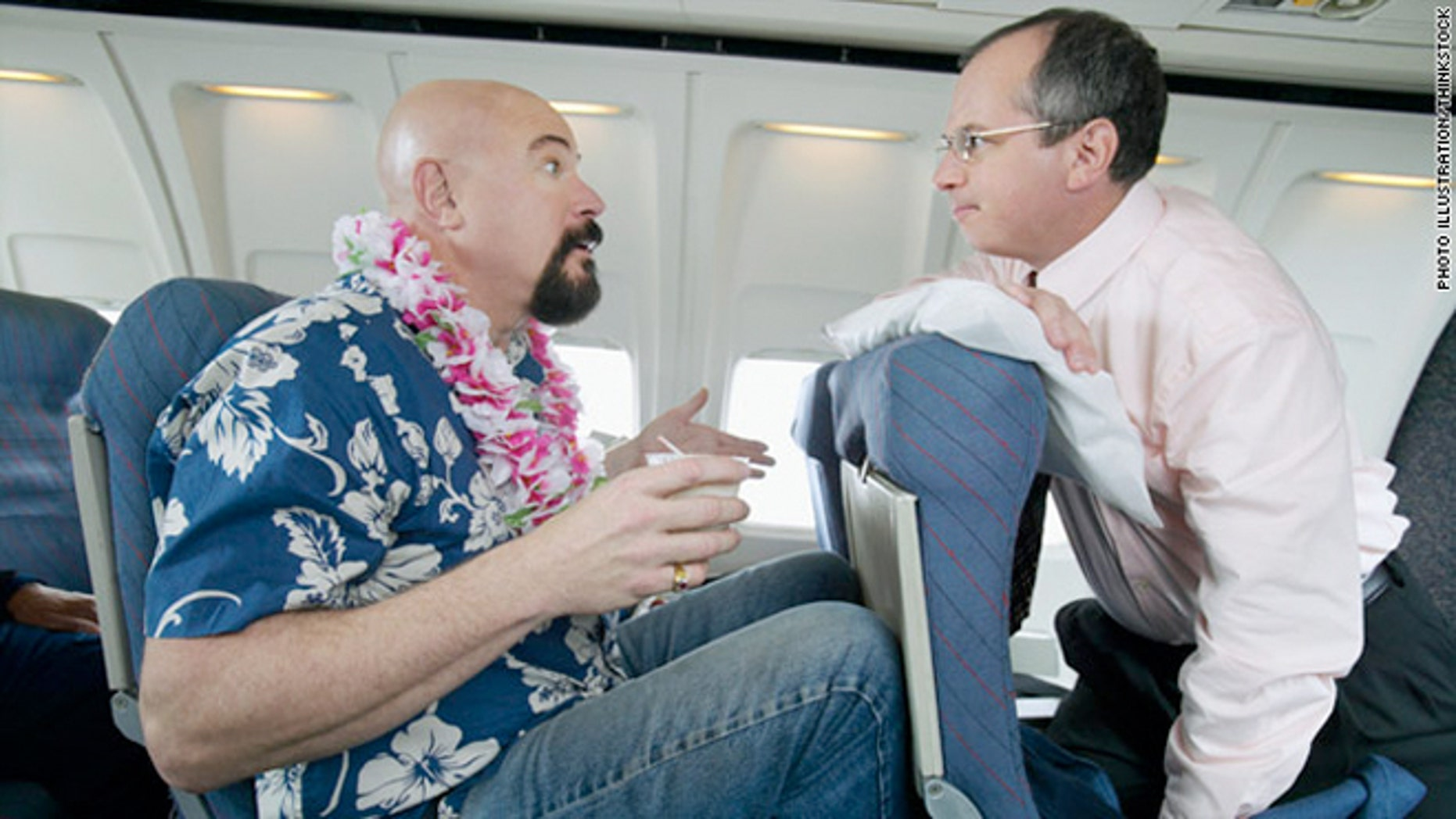 A new survey shows that some passengers are willing to sacrifice their own comfort to put an end to in-flight tension.