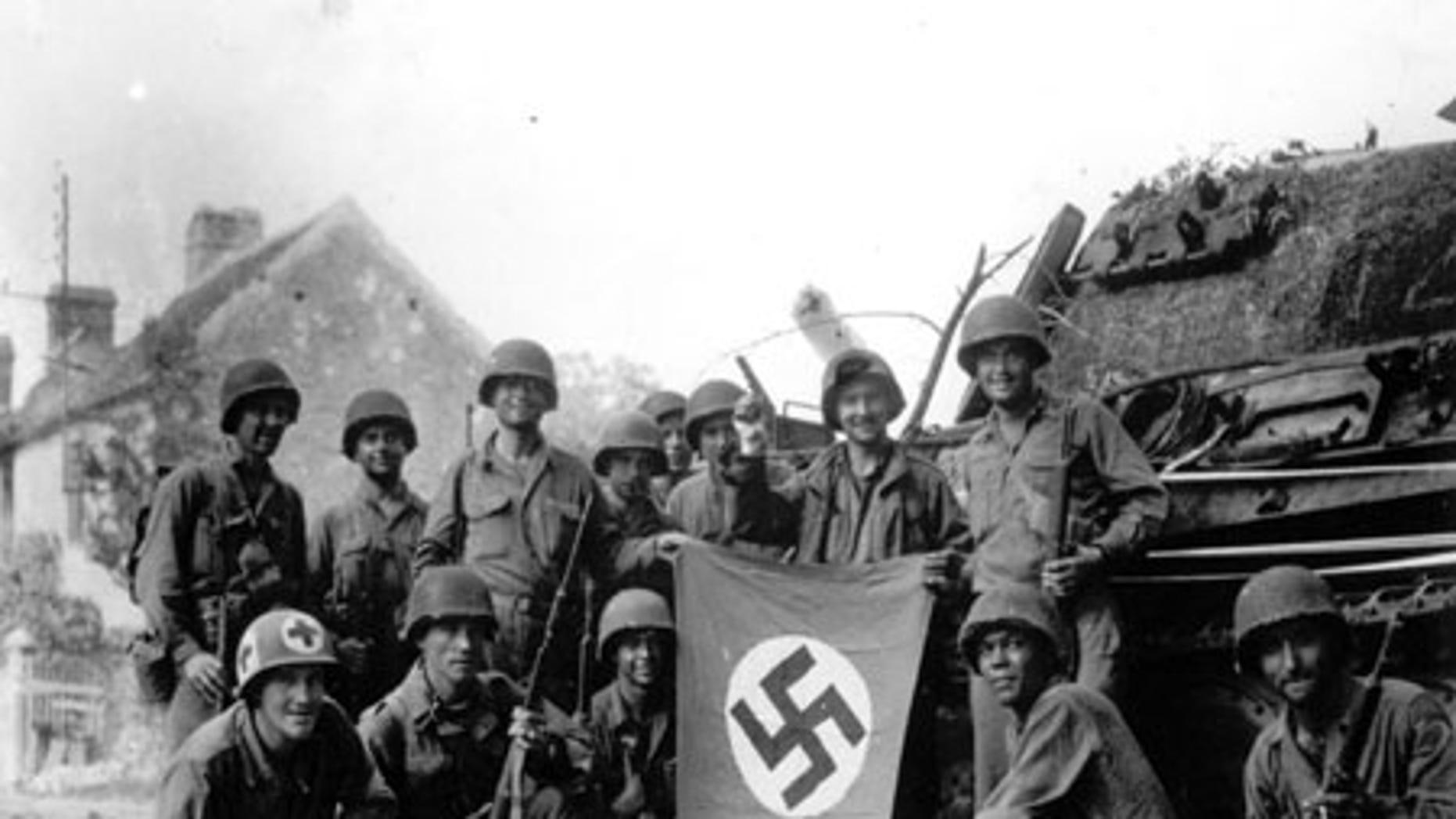 File: Chambois liberation