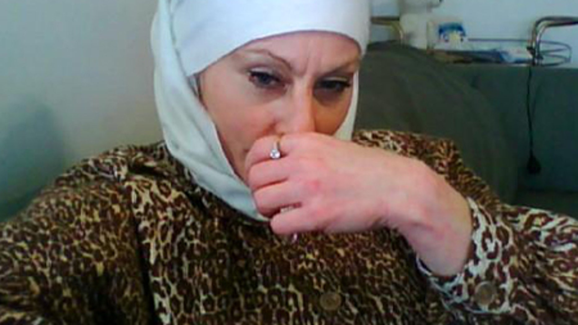 A photo from a Web site authorities say was maintained by terror suspect Colleen R. LaRose.