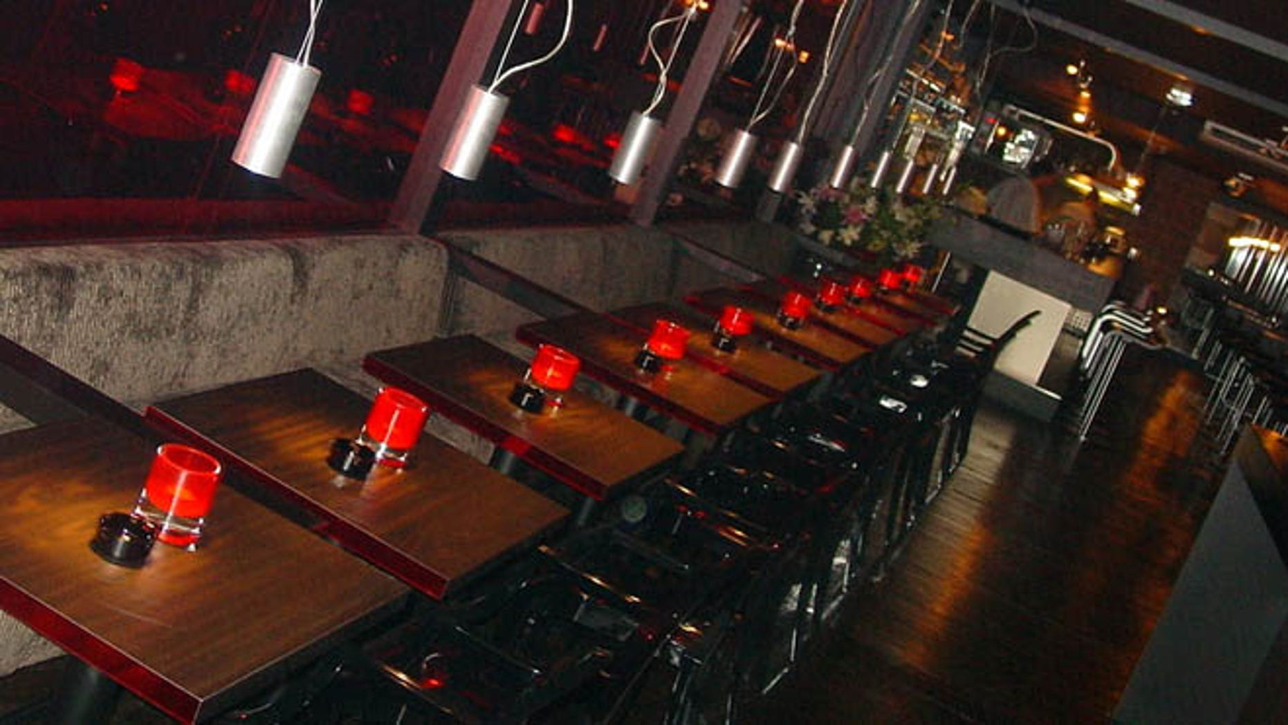 Bubbles Seafood & Wine Bar, the sister restaurant of Amsterdam's Bubbles & Wines (shown here), is a wine, champagne, and raw seafood bar.