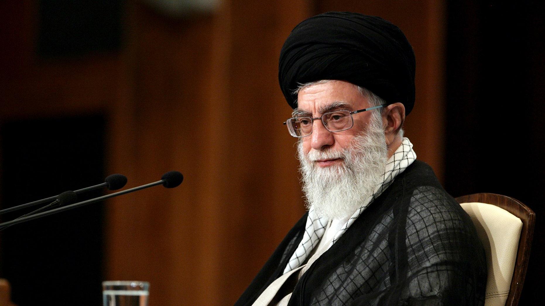 FILE: Iranian supreme leader Ayatollah Ali Khamenei
