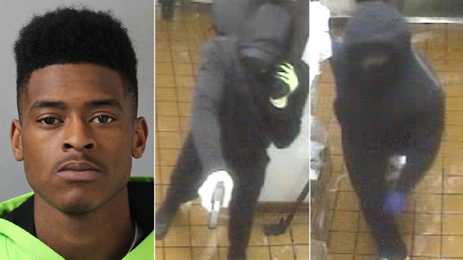 Nashville Police say Kenneth Jernigan, left, was one of the three armed men who tried to rob a Burger King restaurant on Monday night. Jernigan was killed during the incident and the other two suspects have not yet been found.