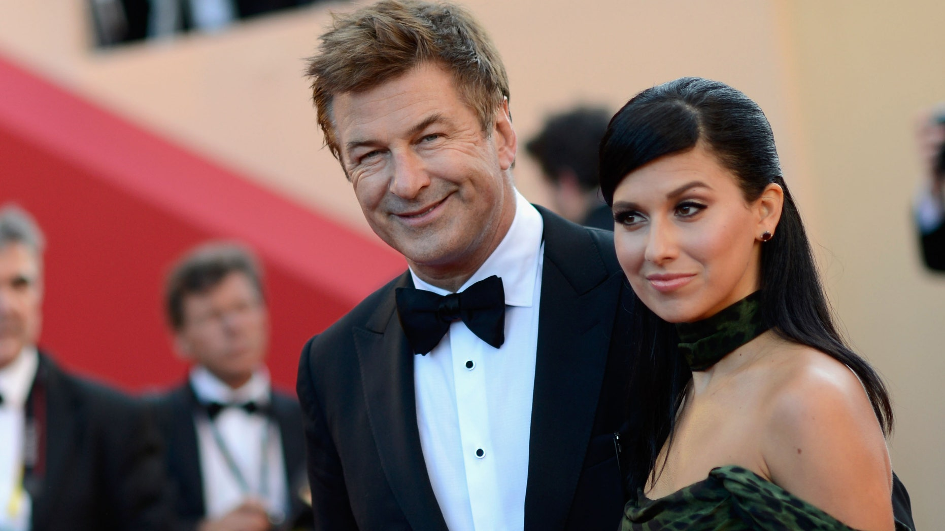 CANNES, FRANCE - MAY 22:  Actor Alec Baldwin and Hilaria Thomas attend the 'Killing Them Softly' Premiere during 65th Annual Cannes Film Festival at Palais des Festivals on May 22, 2012 in Cannes, France.  (Photo by Gareth Cattermole/Getty Images)