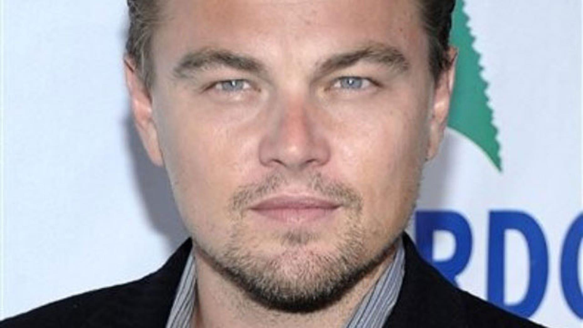 Leonardo DiCaprio. (Reuters)