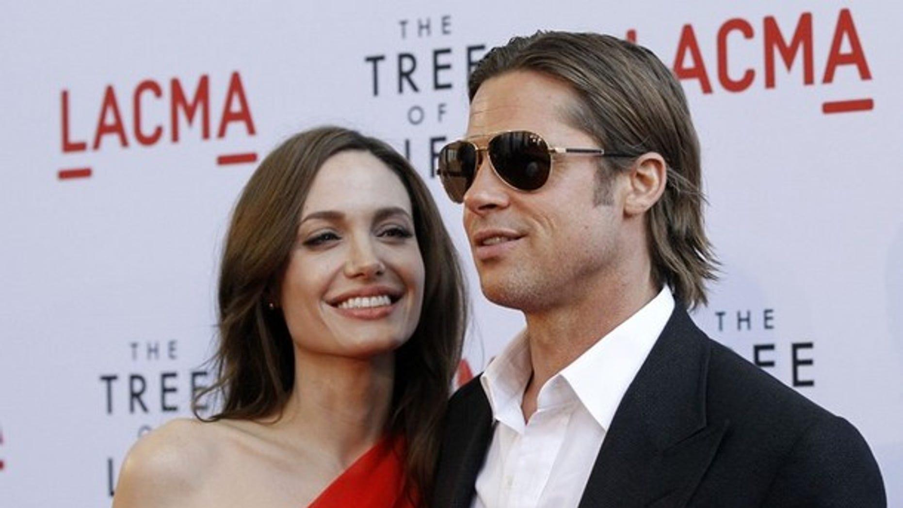 Angelina Jolie and Brad Pitt (Reuters)