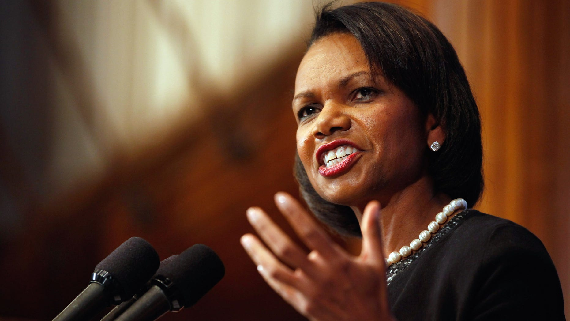 Former U.S. Secretary of State Condoleezza Rice