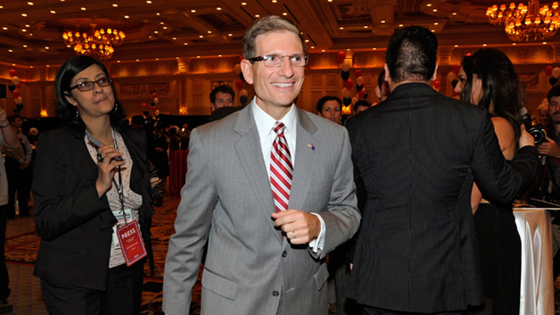 U.S. Rep. Joe Heck on November 6, 2012 in Las Vegas, Nevada.