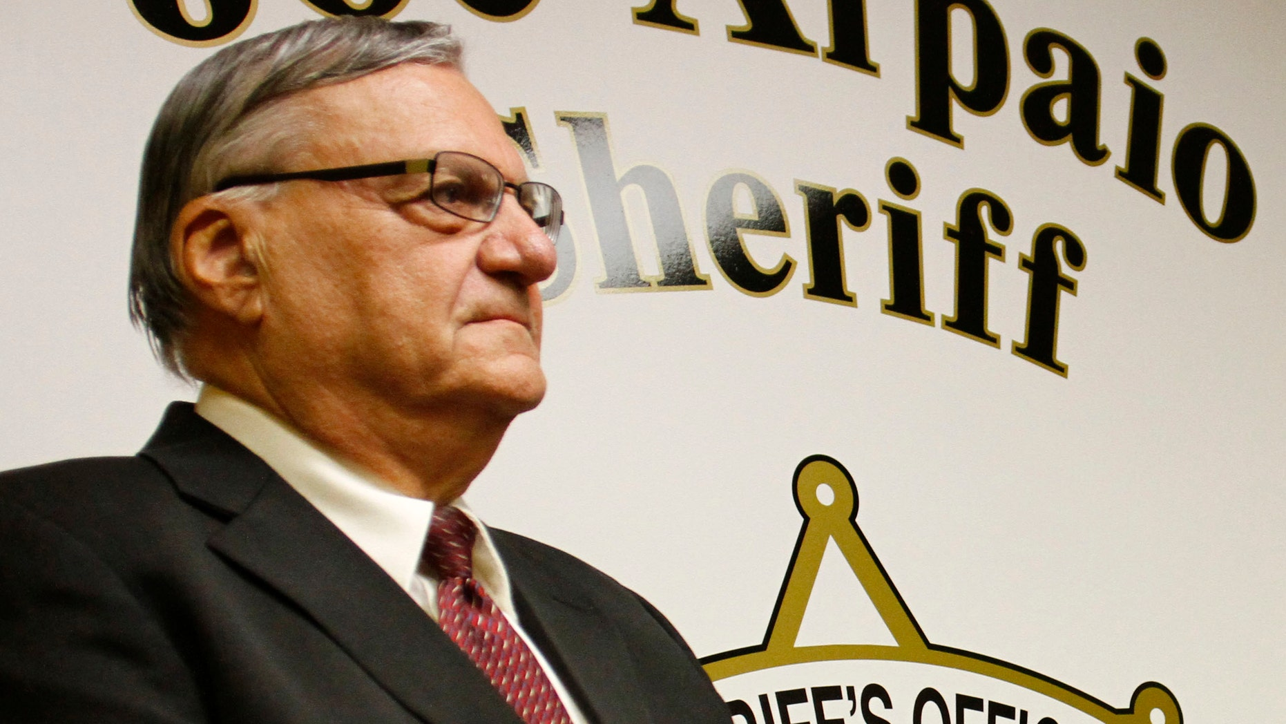 Sheriff Joe Arpaio, of Arizona's Maricopa County.