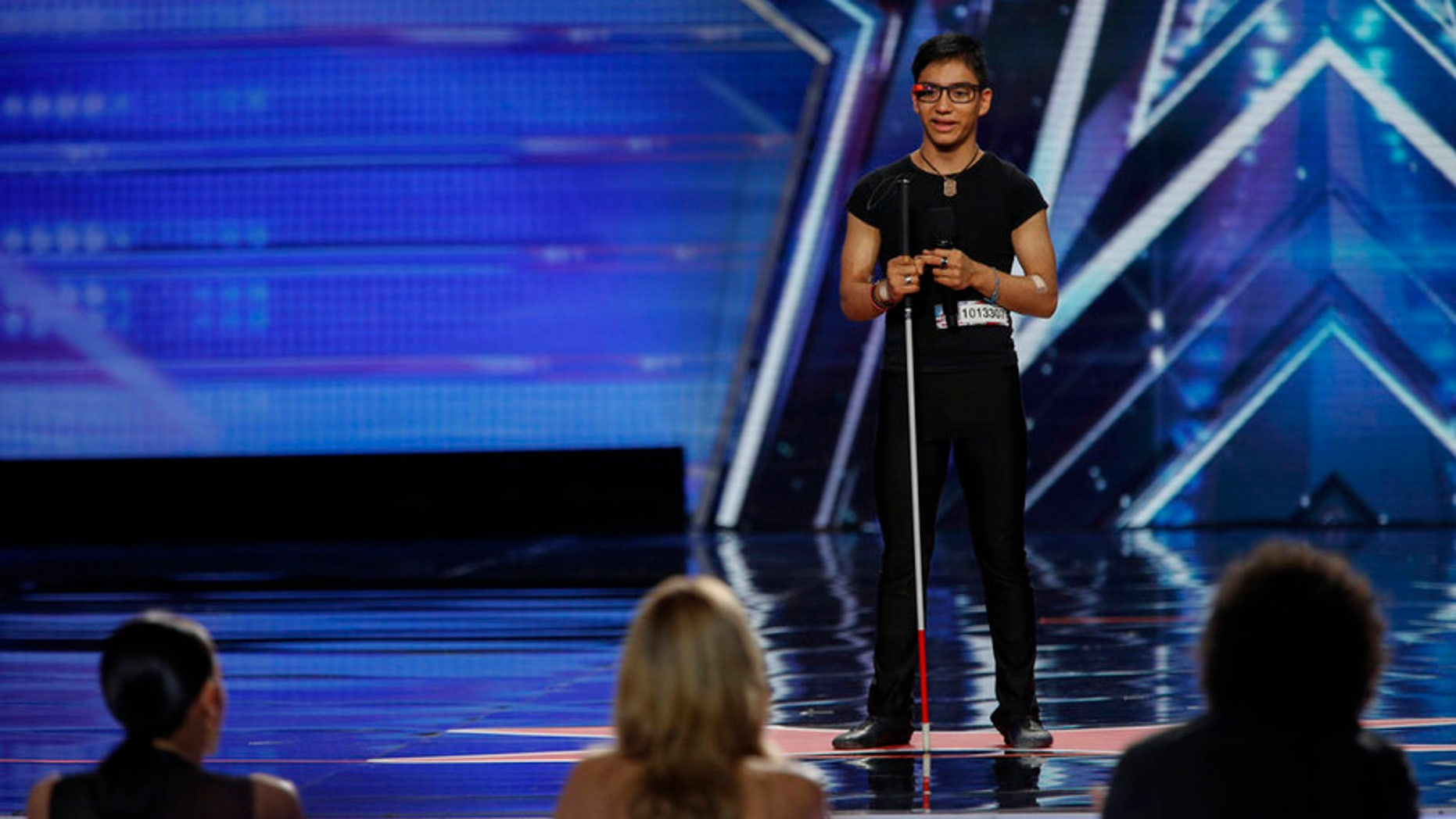 AMERICA'S GOT TALENT -- Episode 1002 -- New Jersey Auditions -- Pictured: Benjamin Yonattan  -- (Photo by: Eric Liebowitz/NBC)