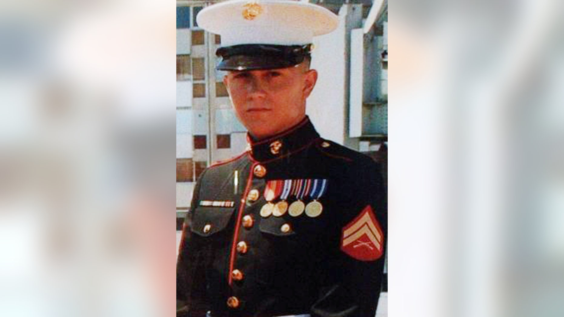 This undated photo provided by the family via attorney Aaron J. Freiwald shows U.S. Marine Brian LaLoup who died in 2012 while stationed in Greece. LaLoup's parents, Coatesville  Pa. residents said when his body arrived home in Pennsylvania his heart was missing, and they've sued the Department of Defense. On Tuesday, Dec. 10, 2013, his mother, Beverly LaLoup, said a heart was later sent to them, but it wasn't her son's. (AP Photo/LaLoup Family)