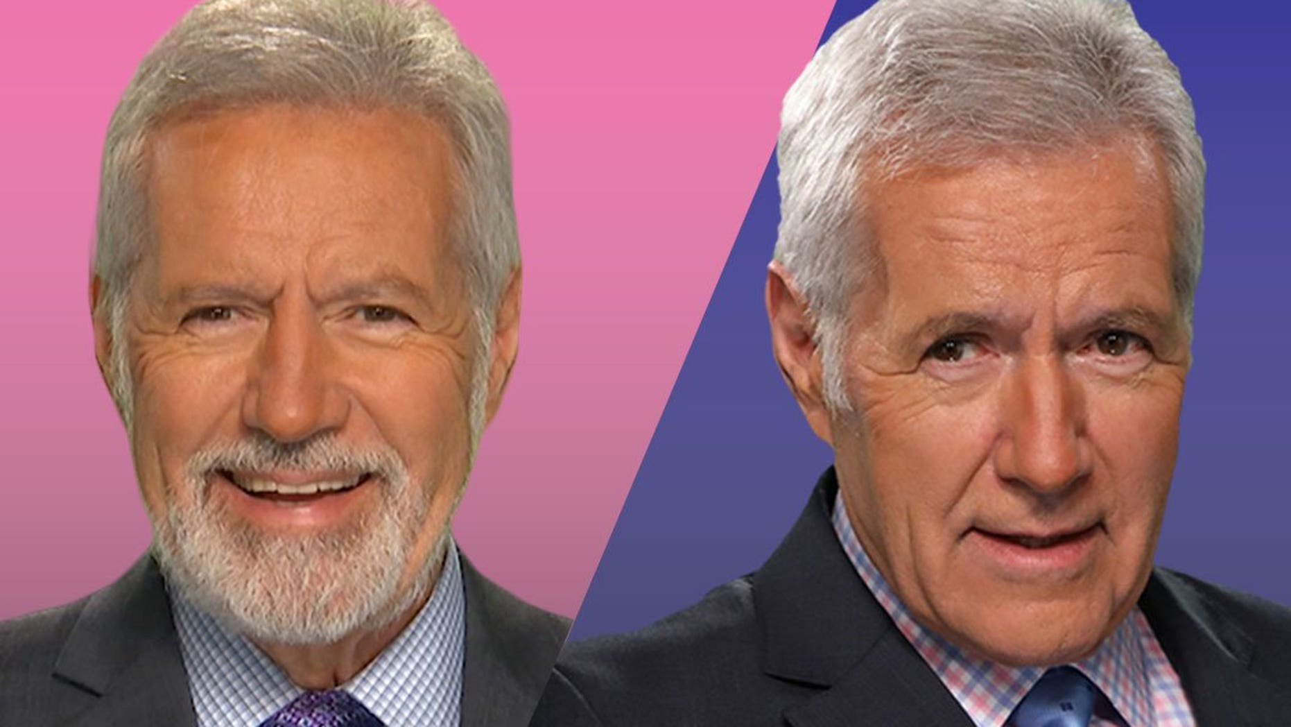 Alex Trebek stunned viewers on Monday when he hosted 'Jeopardy!' with a beard.