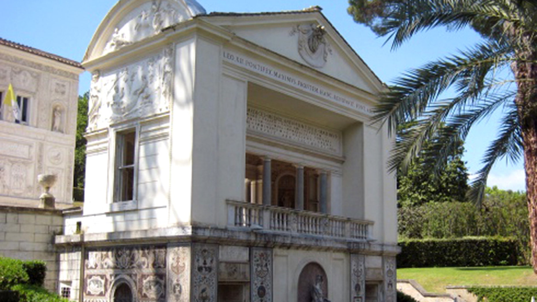 Located within the Vatican garden, Casina Pio IV is a 16th century villa that houses the Pontifical Academy of Sciences.