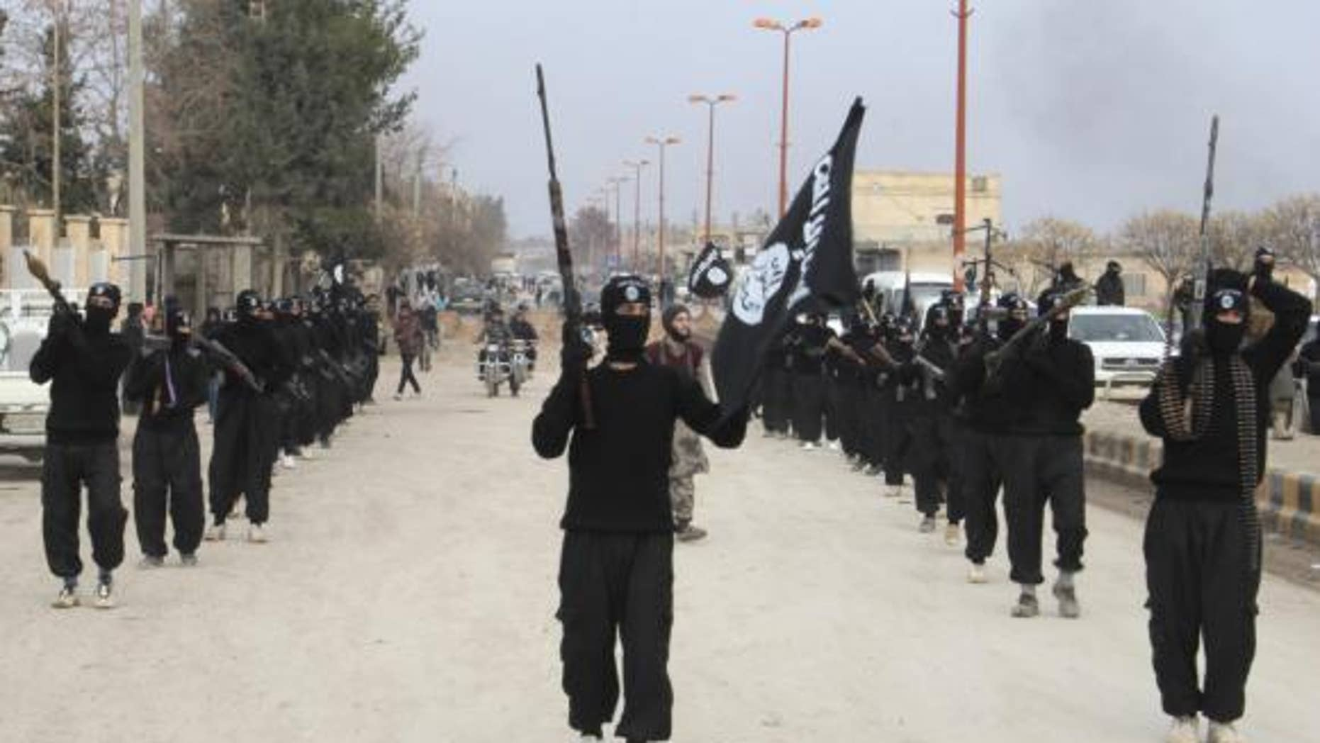 Fighters of the Islamic State recently burned to death five women and their sons, according to reports from Iraq. (Reuters)