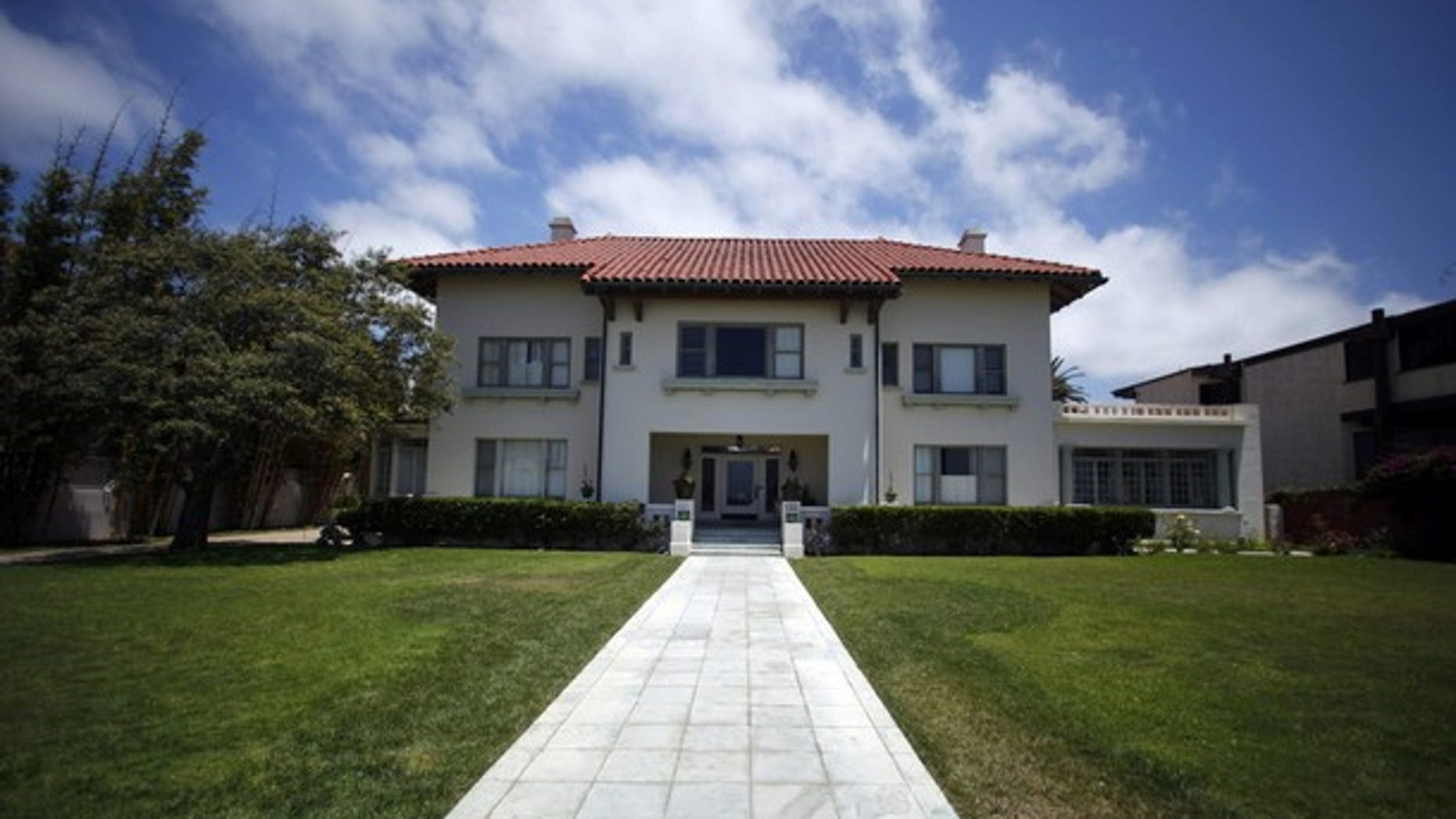 July 14: The Coronado home of Medicis Pharmaceutical Corp chief executive Jonah Shacknai (Reuters).