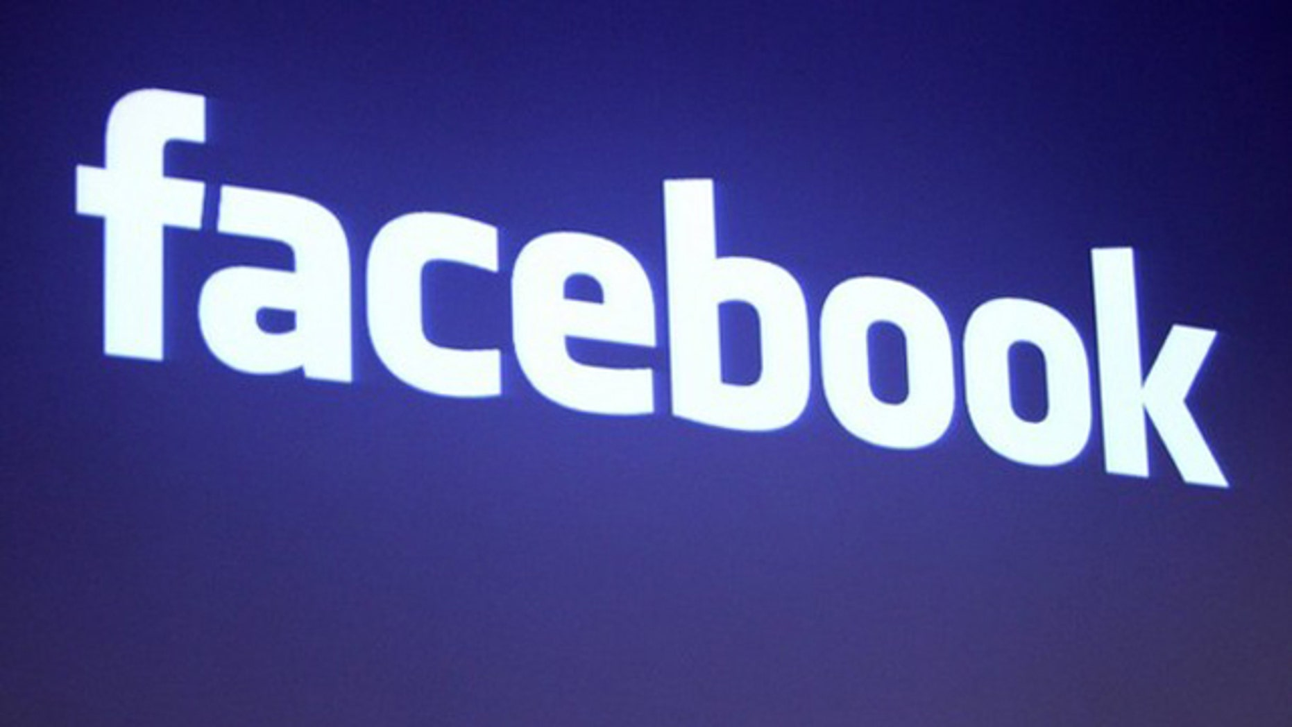 The Facebook logo is shown at Facebook headquarters in Palo Alto, California, in this May 26, 2010 file photo. (Reuters)