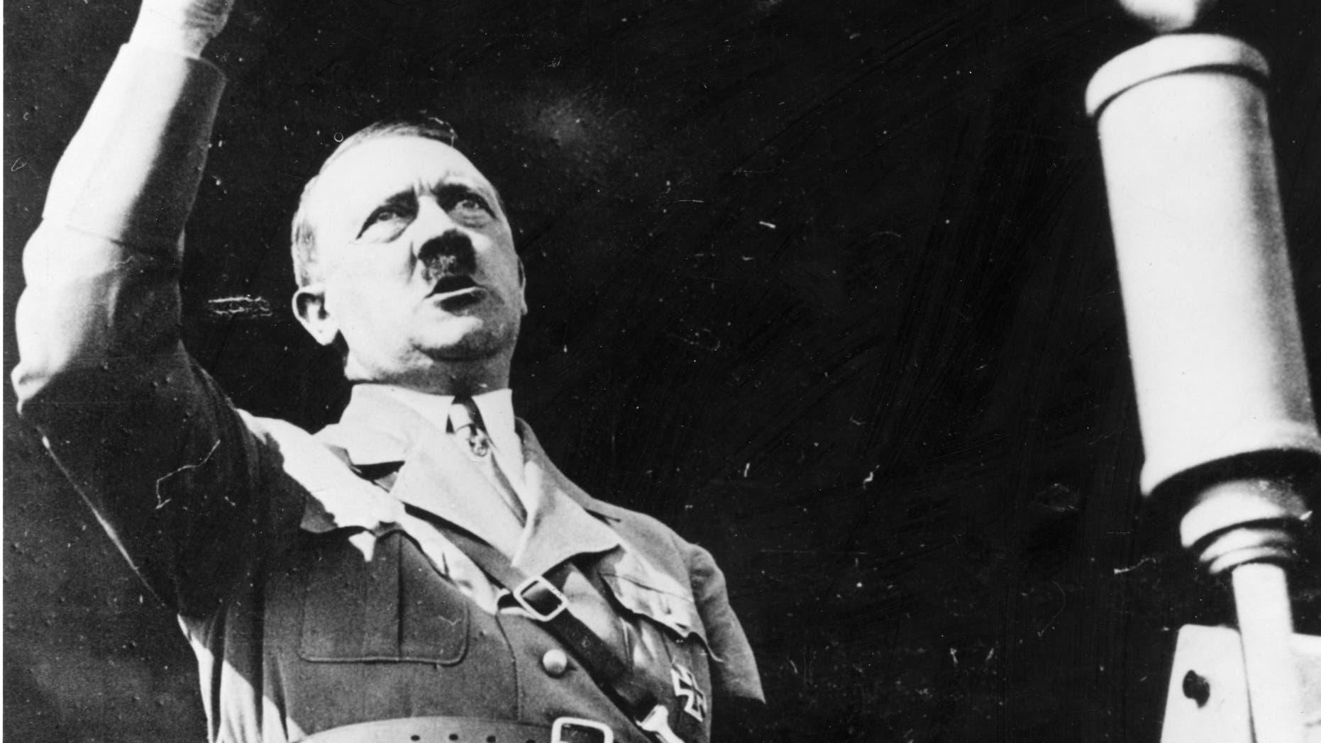 Circa 1939:  Austrian born German fascist dictator Adolf Hitler (1889 - 1945).