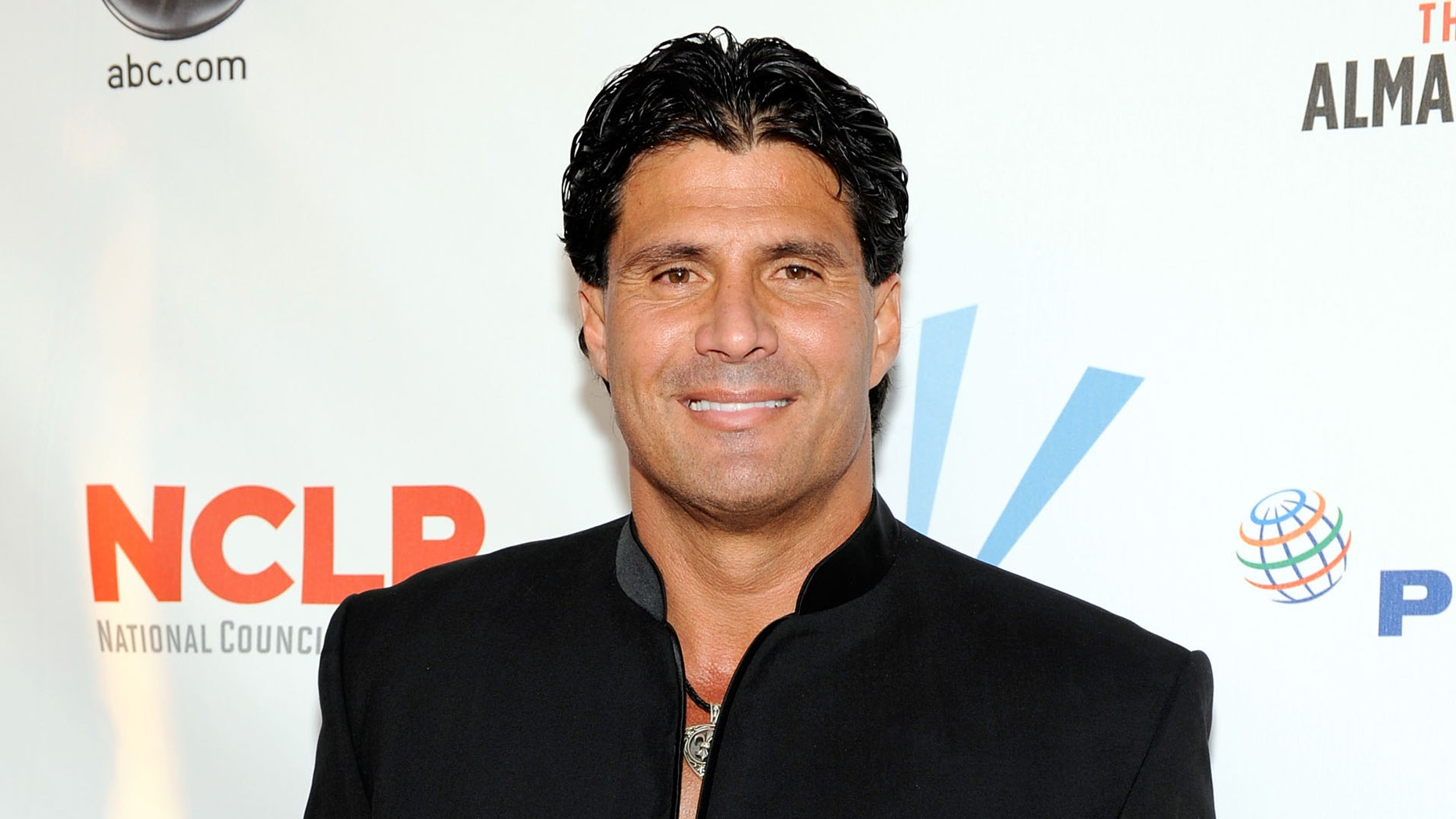 Former player Jose Canseco arrives at the ALMA Awards held at Royce Hall on September 17, 2009 in Los Angeles.