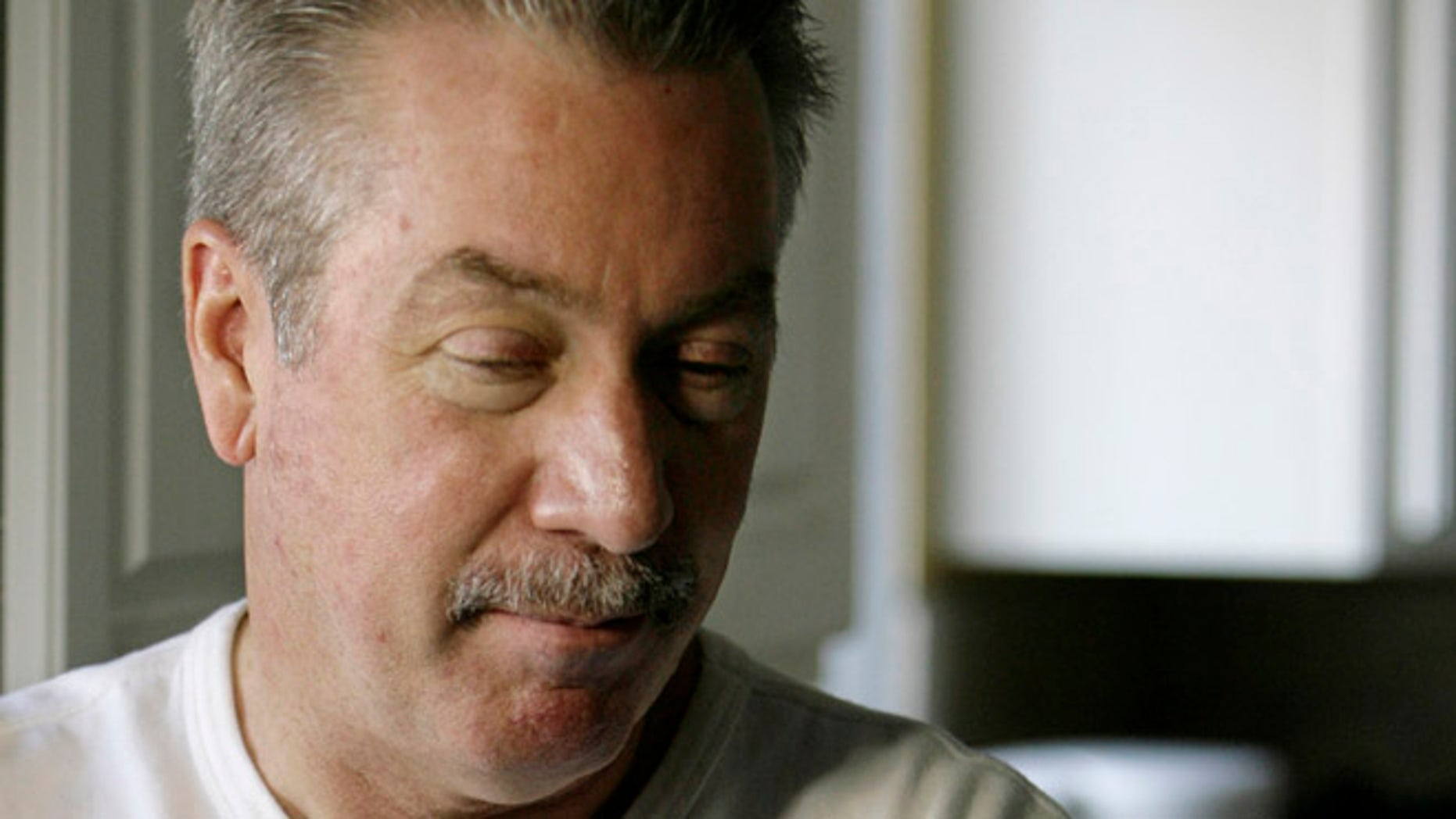 FILE 2008: Drew Peterson, who is on trial for the murder of his third wife, Kathleen Savio who died in 2004, reflects on the 2007 disappearance of his fourth wife, Stacy Peterson.